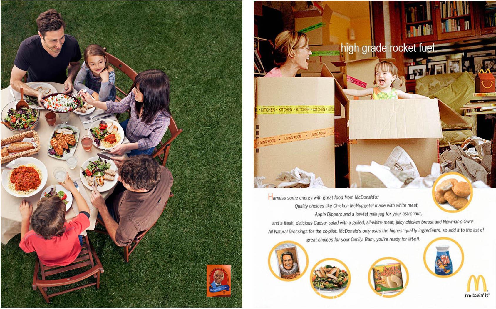 Uncle Ben's / wardrobe&props           McDonald's / wardrobe&props