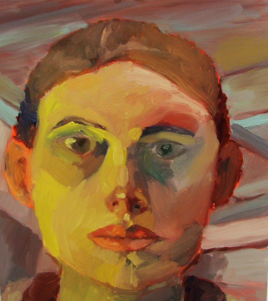 Self Portrait, Oil on canvas, Advanced Painting