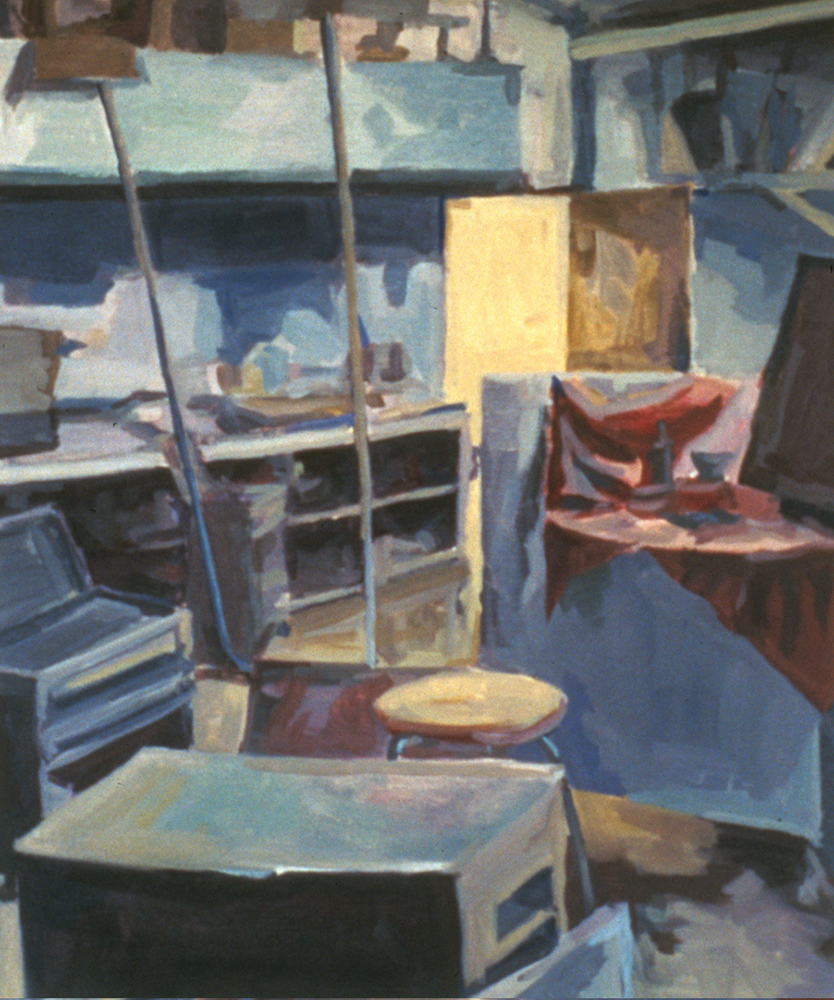 Interior, Oil on canvas, Introduction to Painting