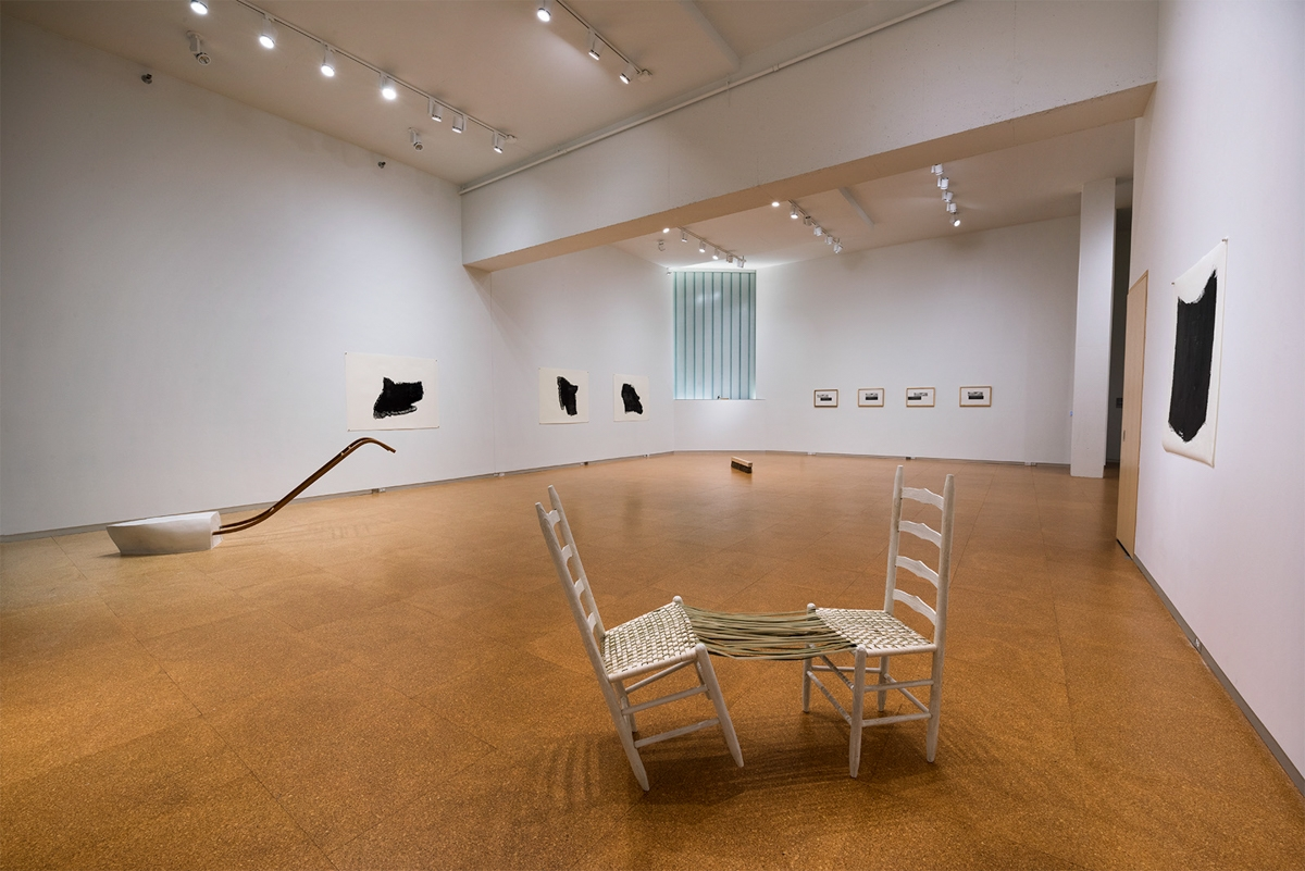 NOT A COUNTRY AT ALL (installation view)