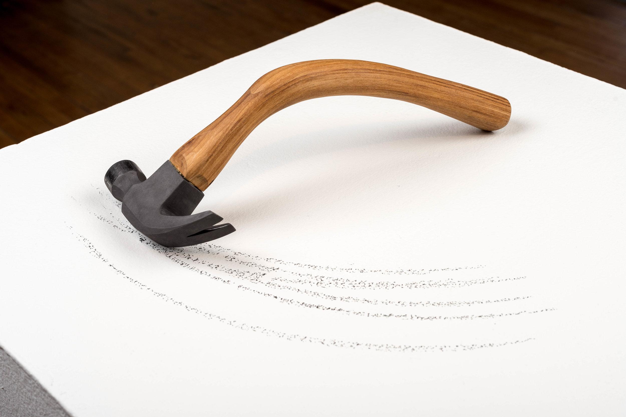 4 oz graphite claw hammer