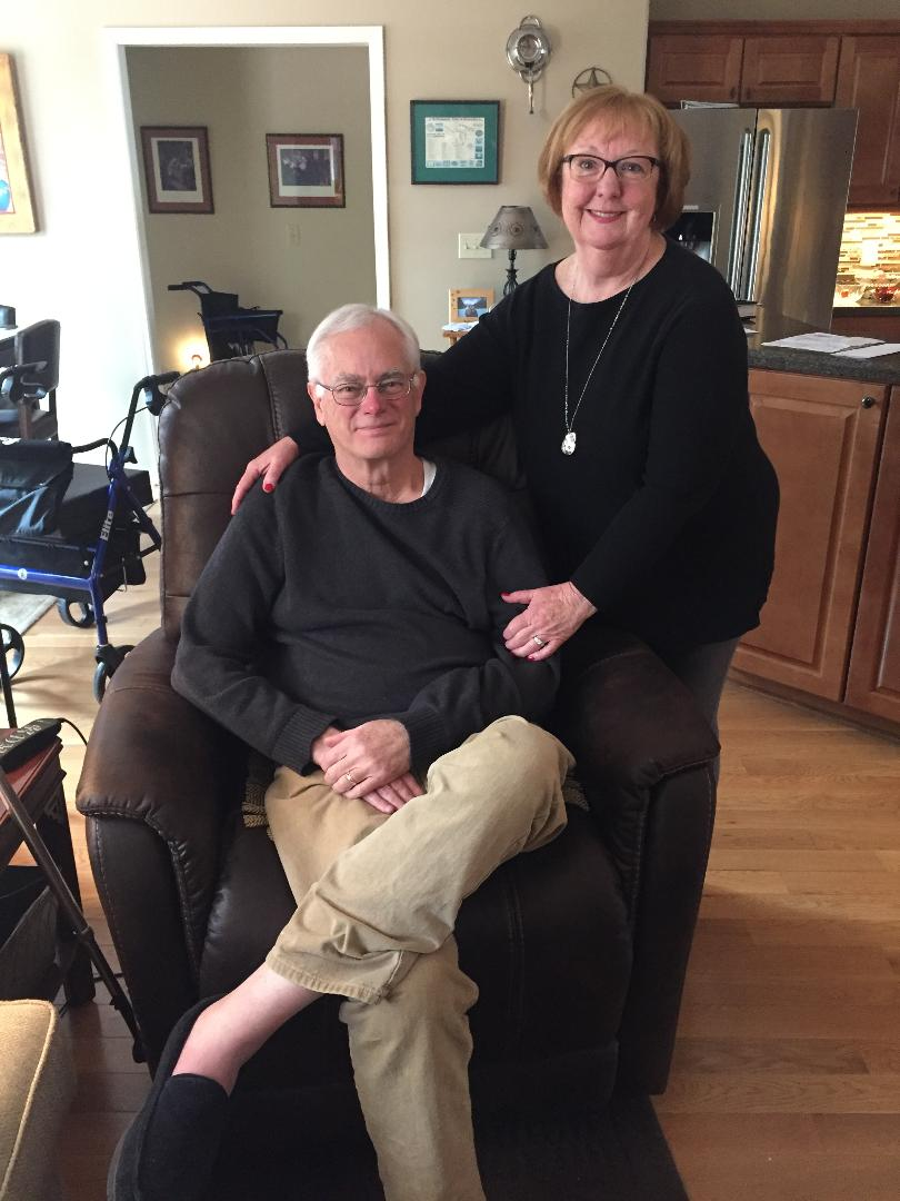 Mr. & Mrs. Jim Bell  - ALS Nursing Angels Visit By: Kristine Phillips, ALS service learning project, UA of Little Rock Nursing.