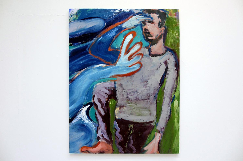 Simon Bayliss, Call of the Wild, 2013,oil on canvas,105 x 137 cm