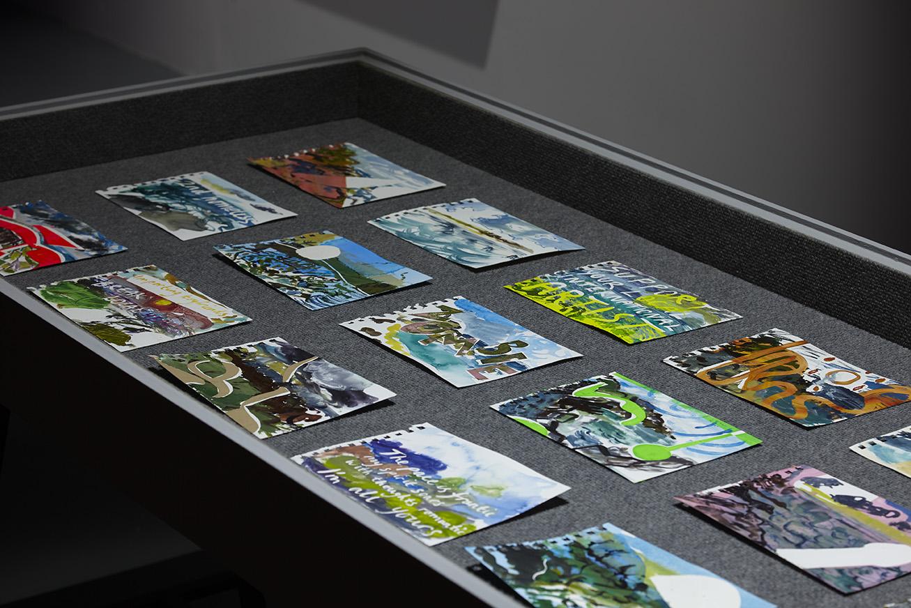 En Plein Air Paintings (St Ives),  watercolour on paper, each 15 x 21 cm