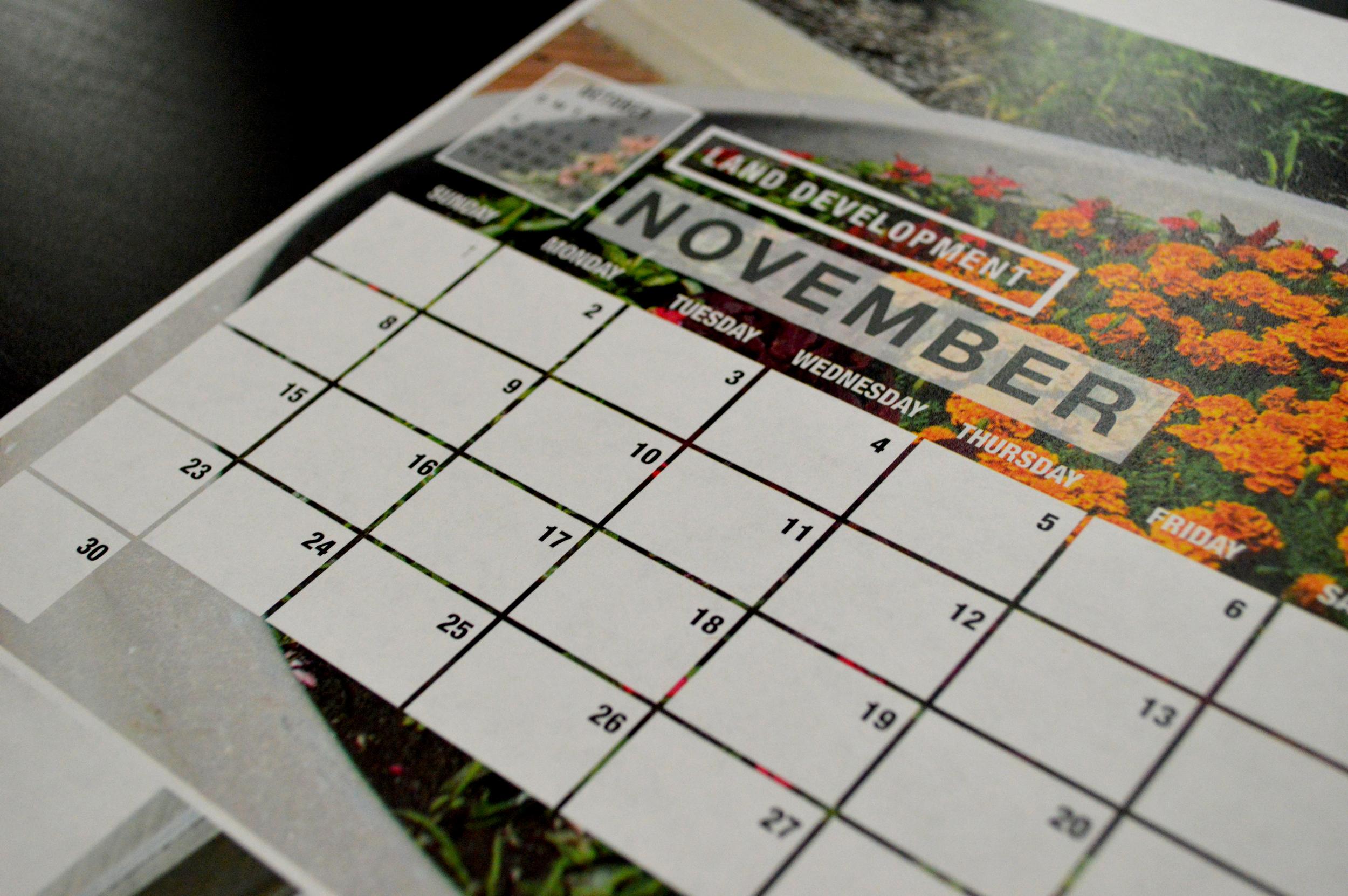 Detail of Calendar