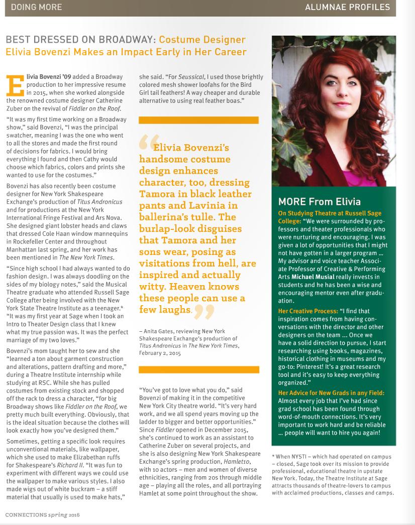 article by Elizabeth Gallagher