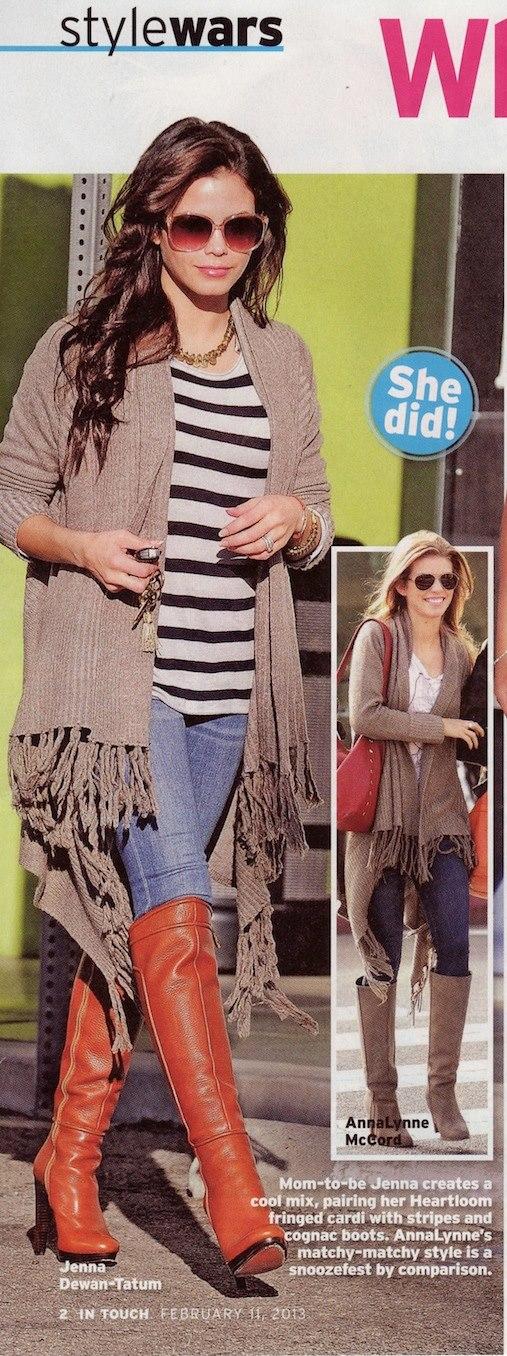 Jenna Dewan Tatum & AnnaLynne McCord, Heartloom