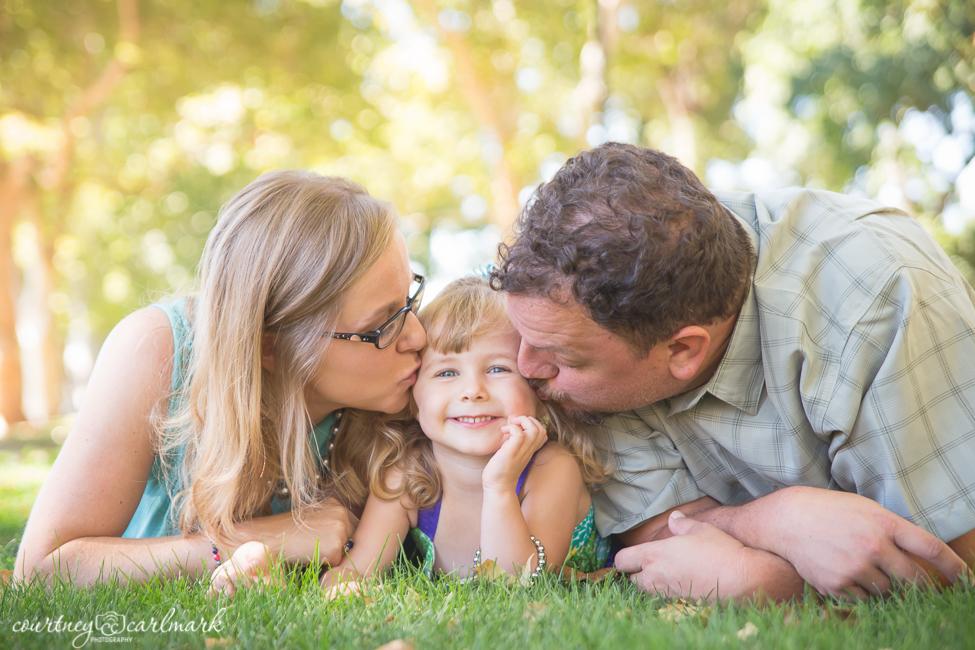 Kisses for sweet Harper