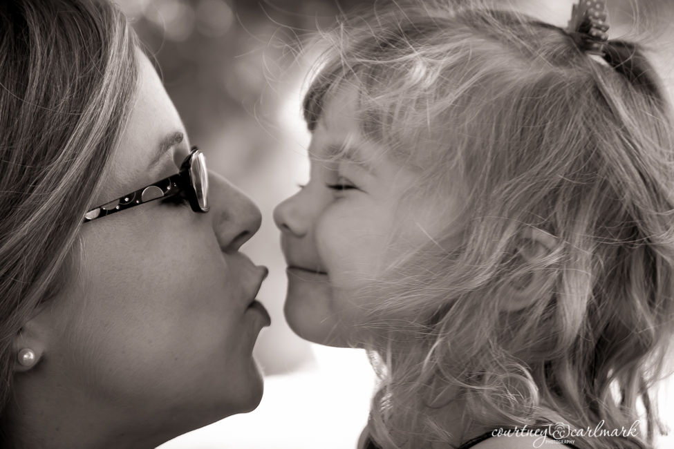 Kisses from Mommy
