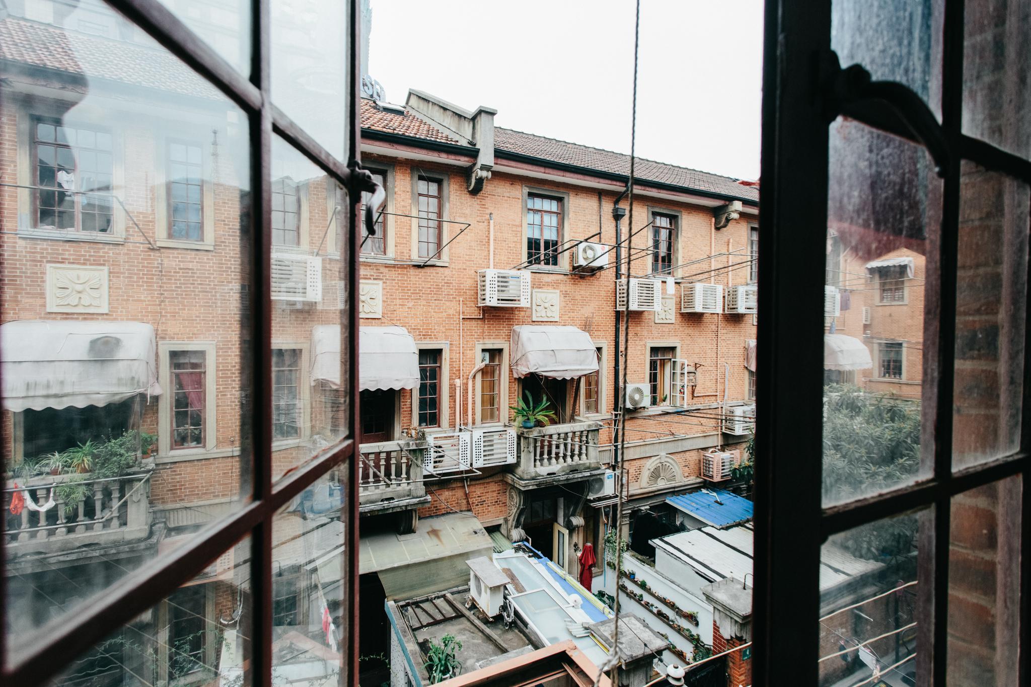 shanghai through windows