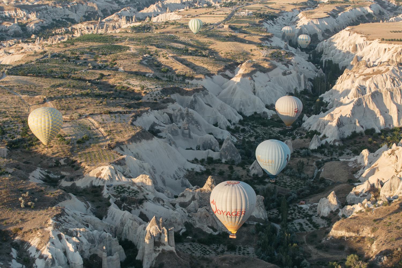 voo balao capadocia turquia