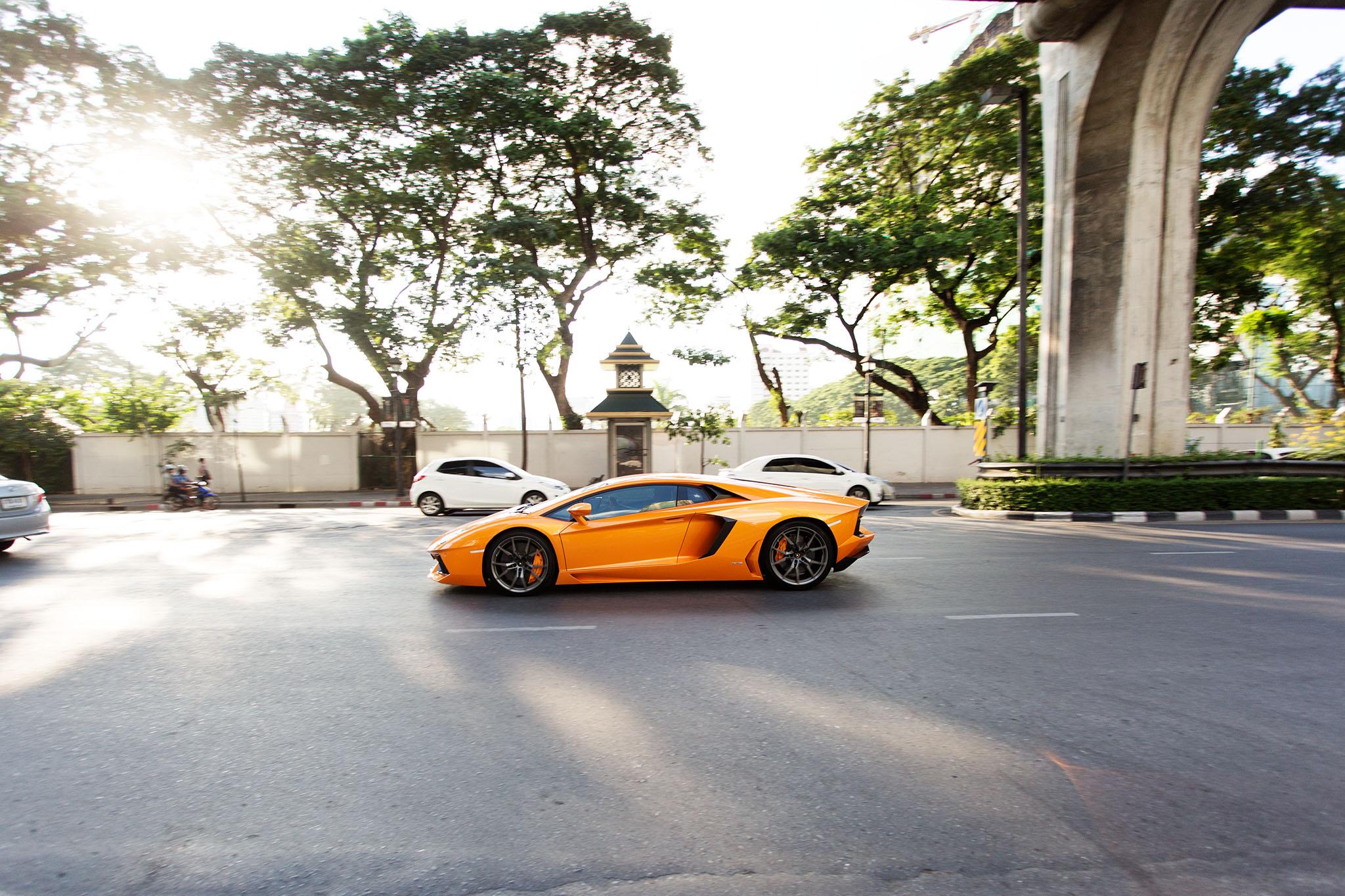 Lamborghini laranja