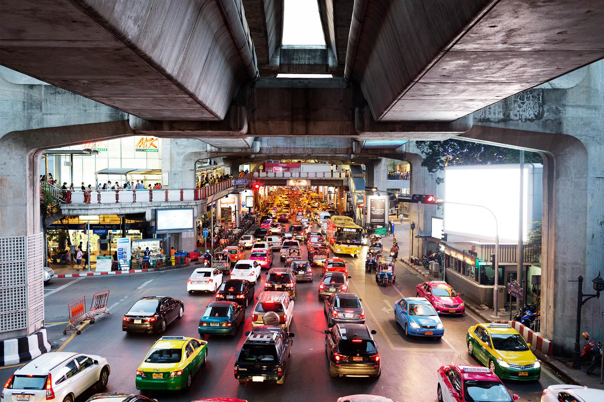 O caos no transito