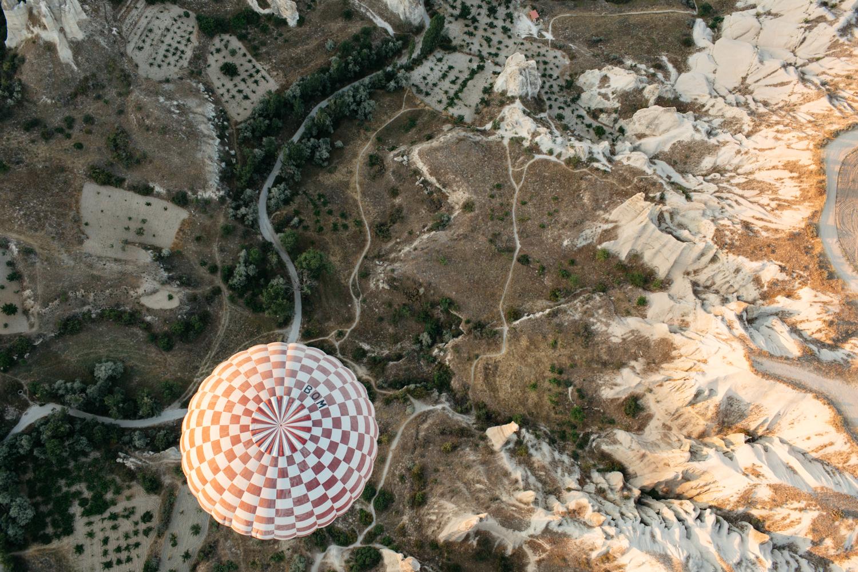 Voar de balão também é aventura