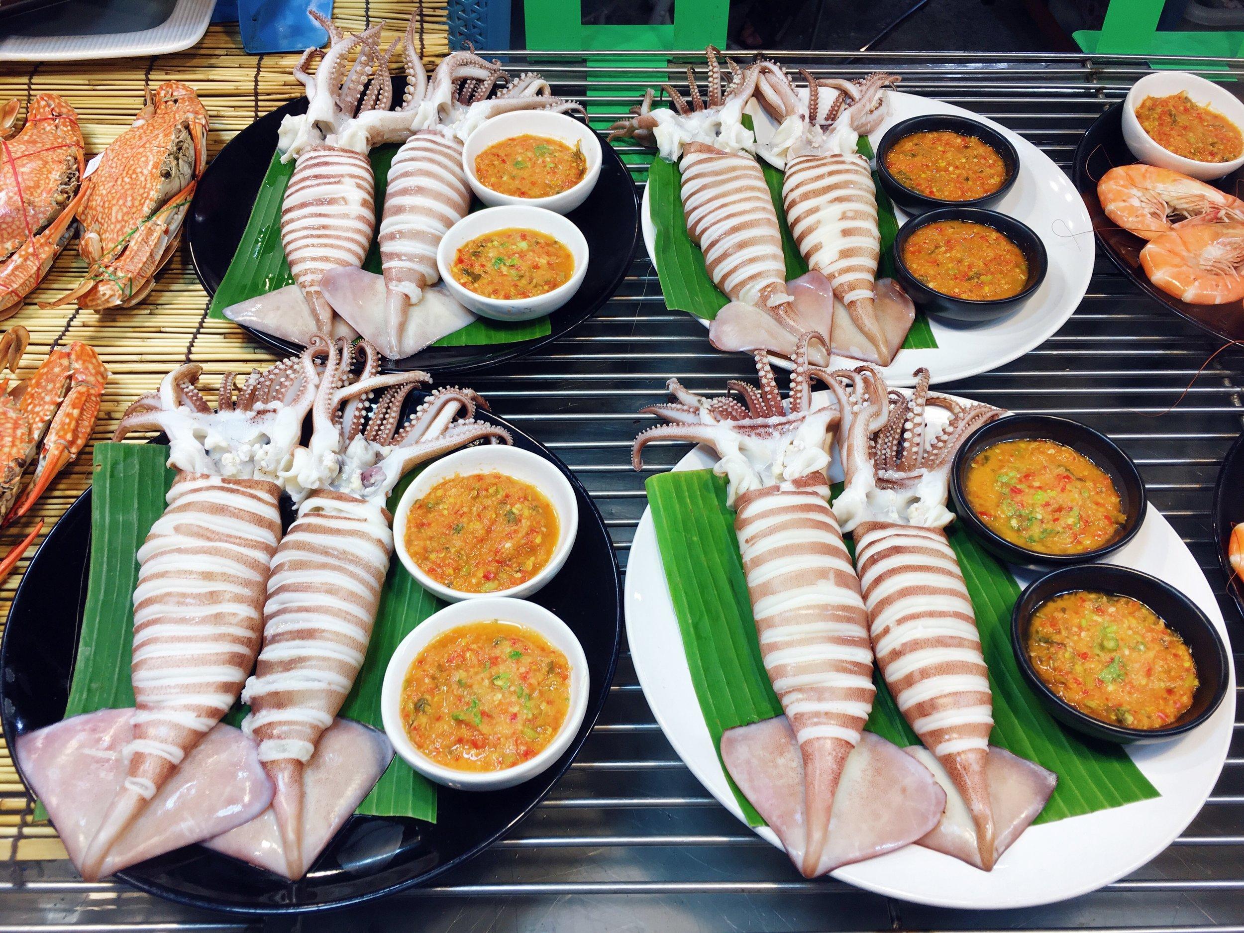 Comida de rua chique em Chiang Mai