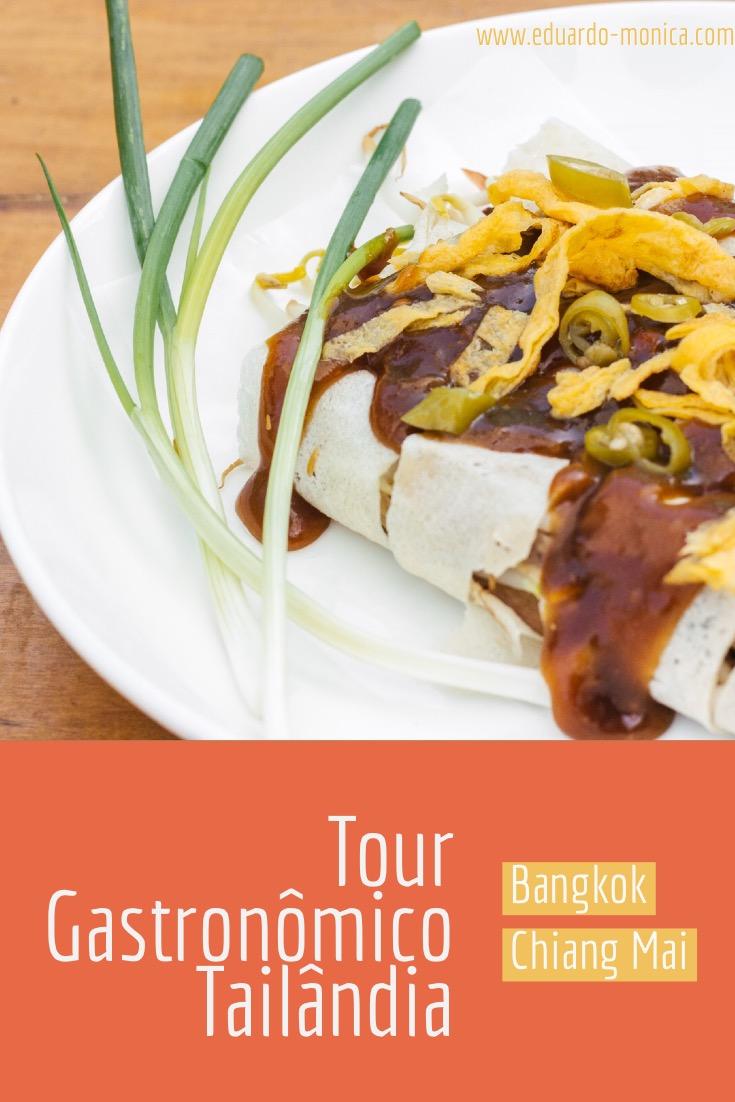 Tour Gastronômico na Tailândia: Bangkok e Chiang Mai