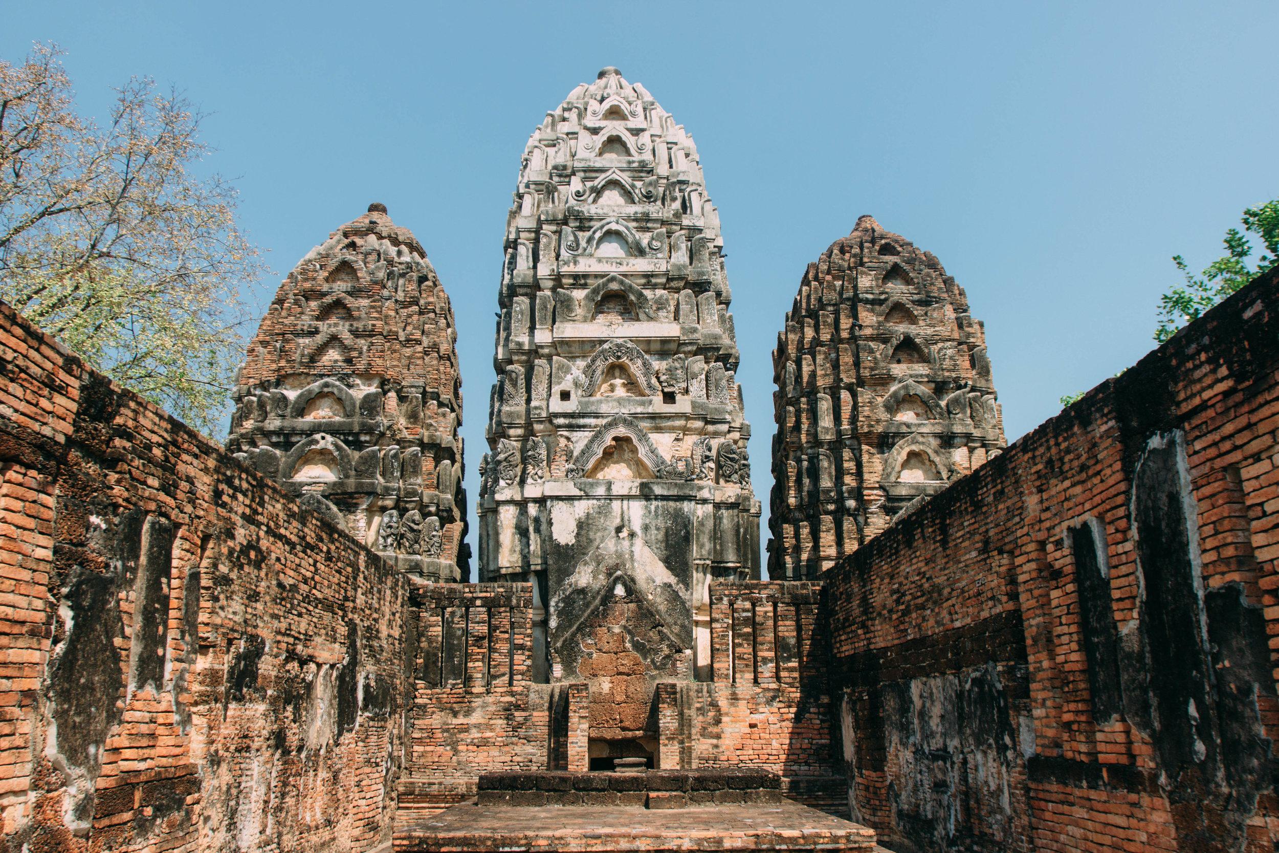 Wat Si Sawat, Sukhothai na Tailândia