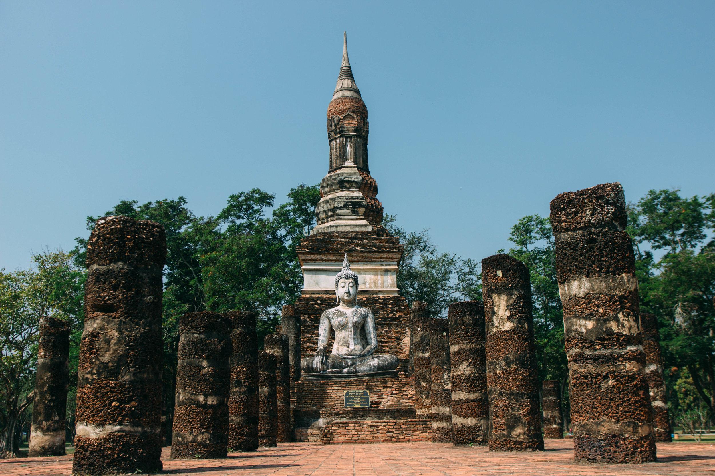 Wat Tra Phang Ngoen, Sukhothai na Tailândia