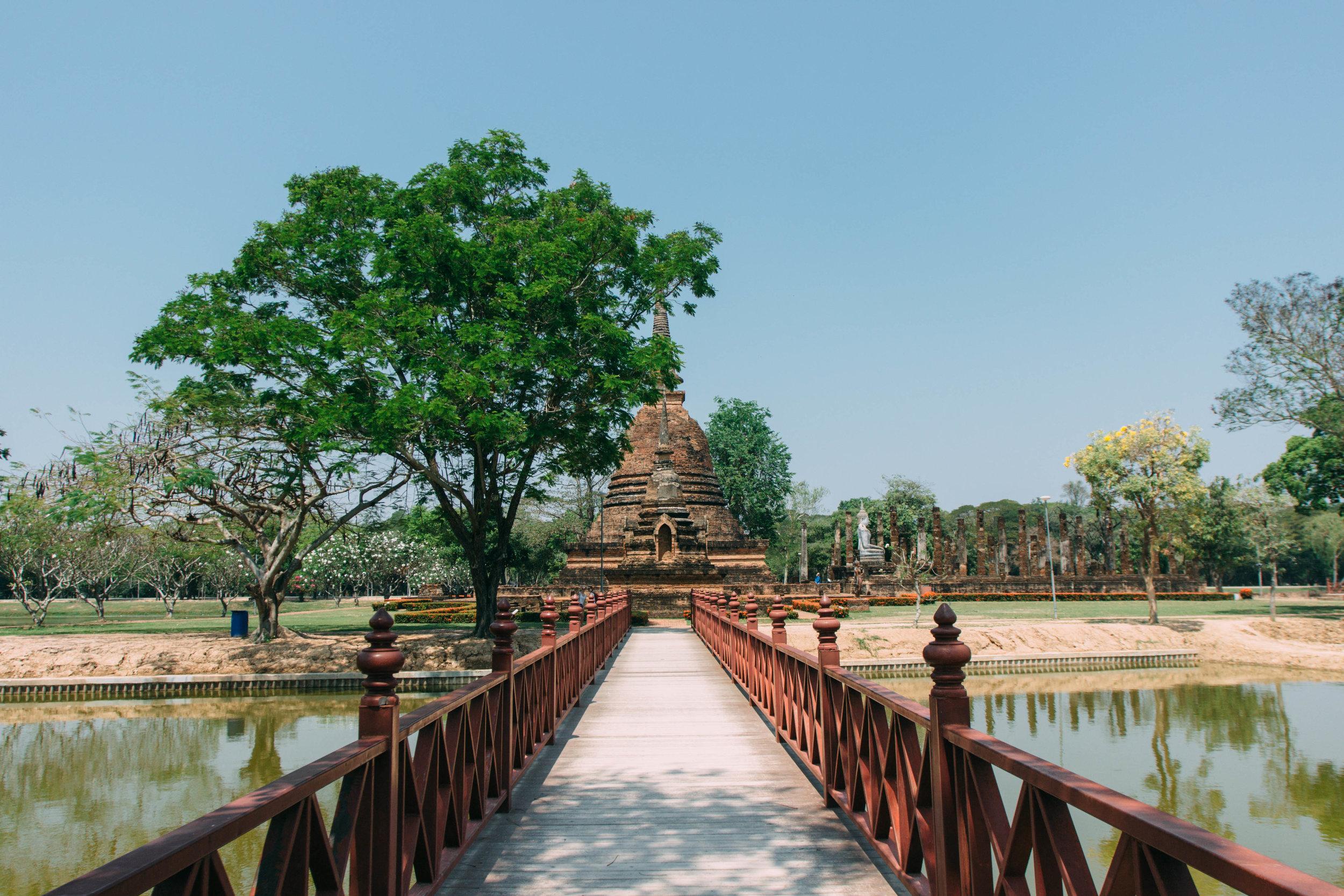 Wat Sa Si, Sukhothai na Tailândia