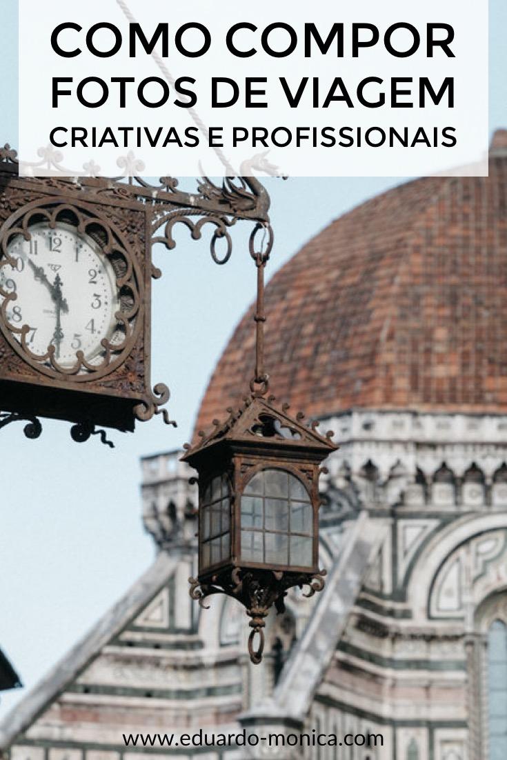 Como Compor Fotos de Viagem Criativas e Profissionais