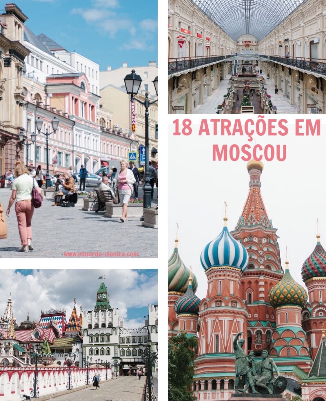 As 18 Melhores Atrações de Moscou