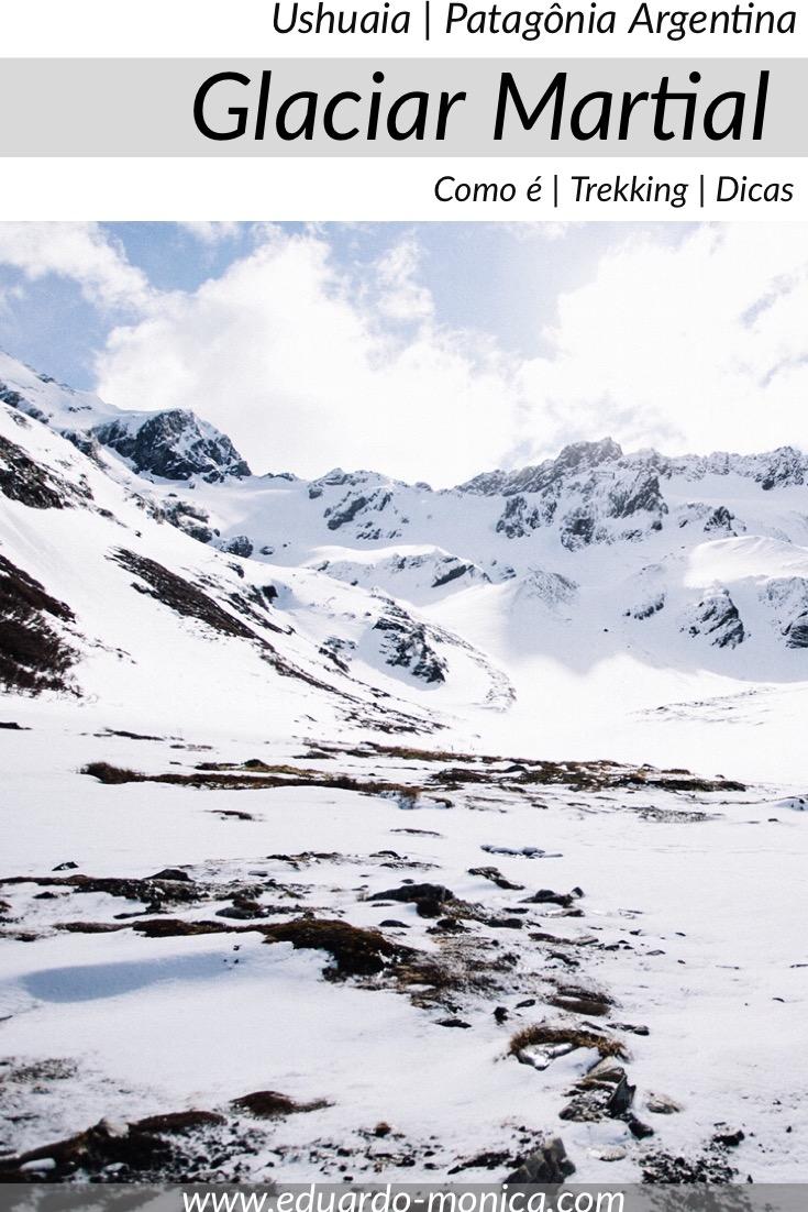 Conhecendo o Glacial Martial no Ushuaia