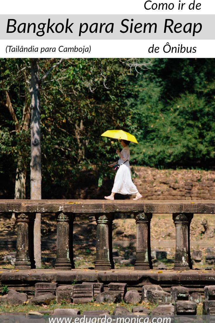 Como Ir de Bangkok para Siem Reap de Ônibus Direto
