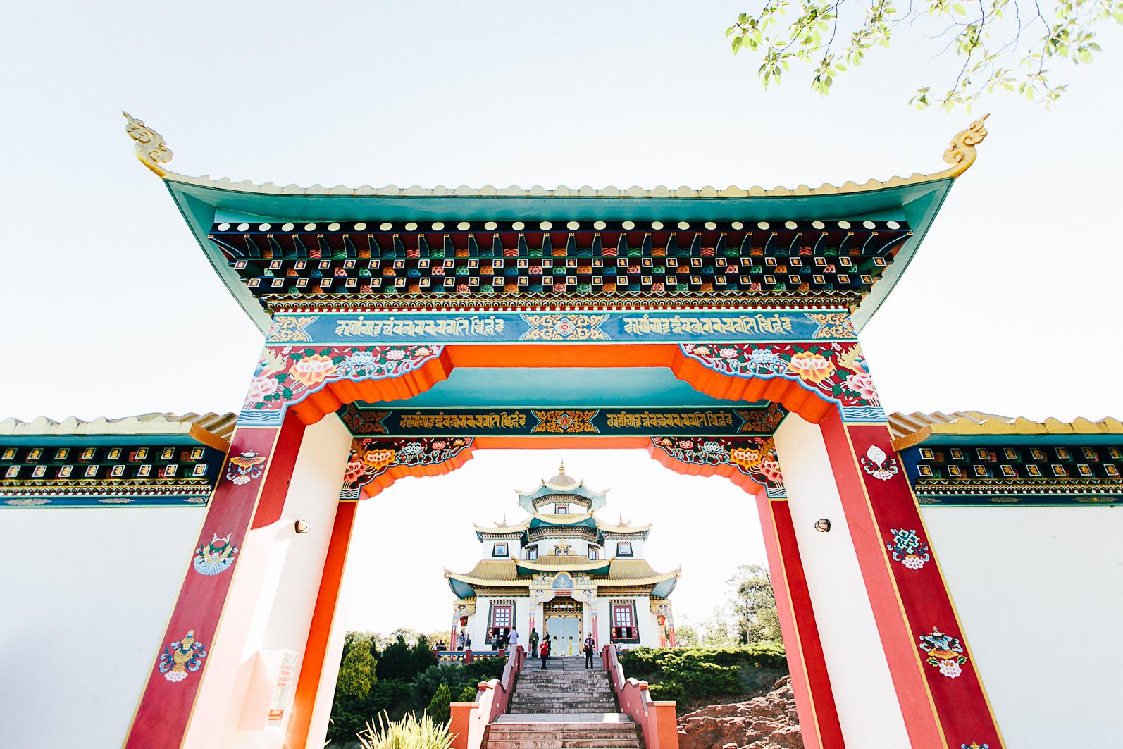 Templo Budista, Três Coroas - RS
