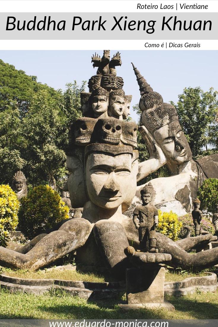Buddha Park Xieng Khuan em Vientiane