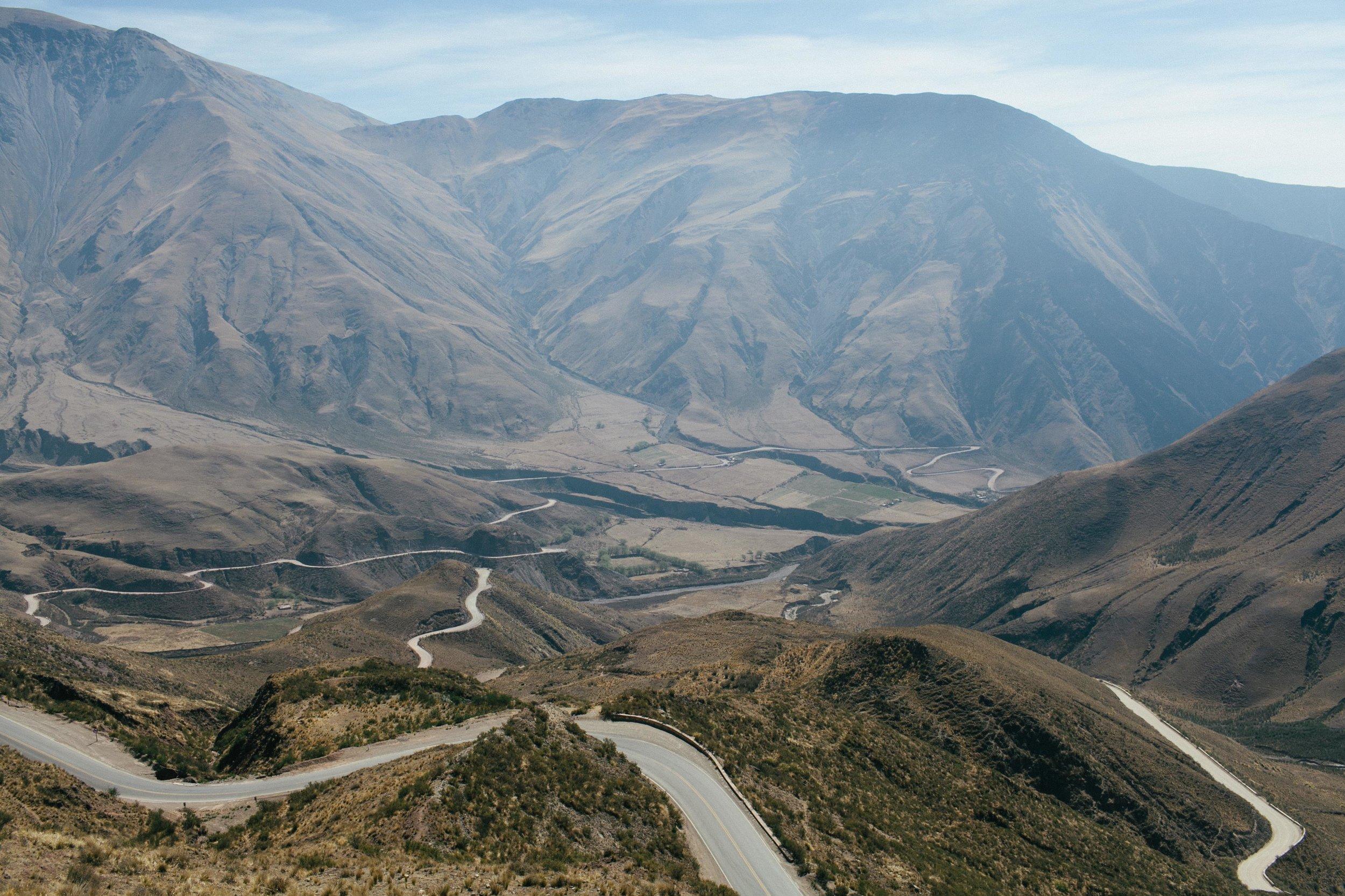 Valles Calchaquies Cuesta del Obispo