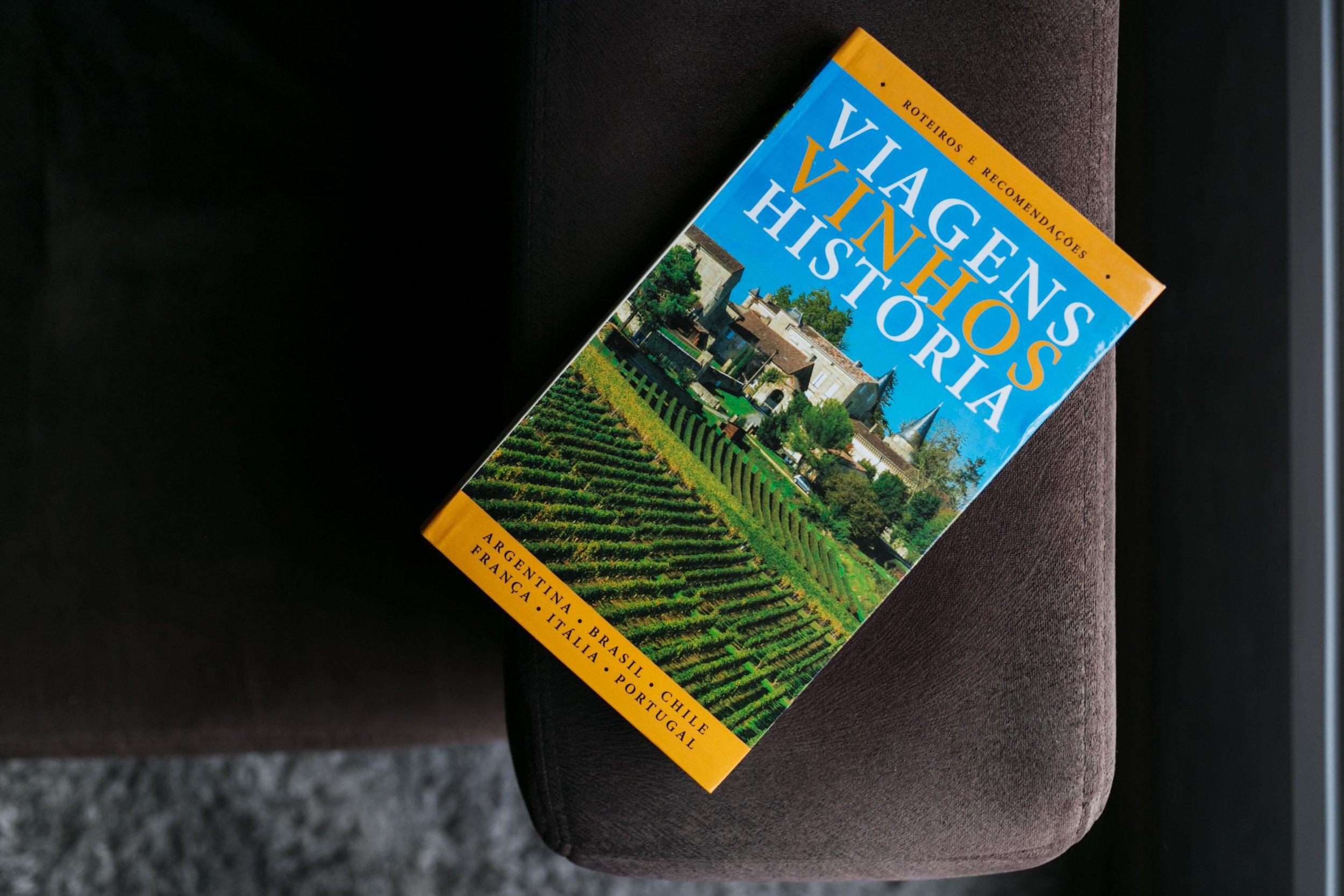 Livro Viagens,Vinho,História