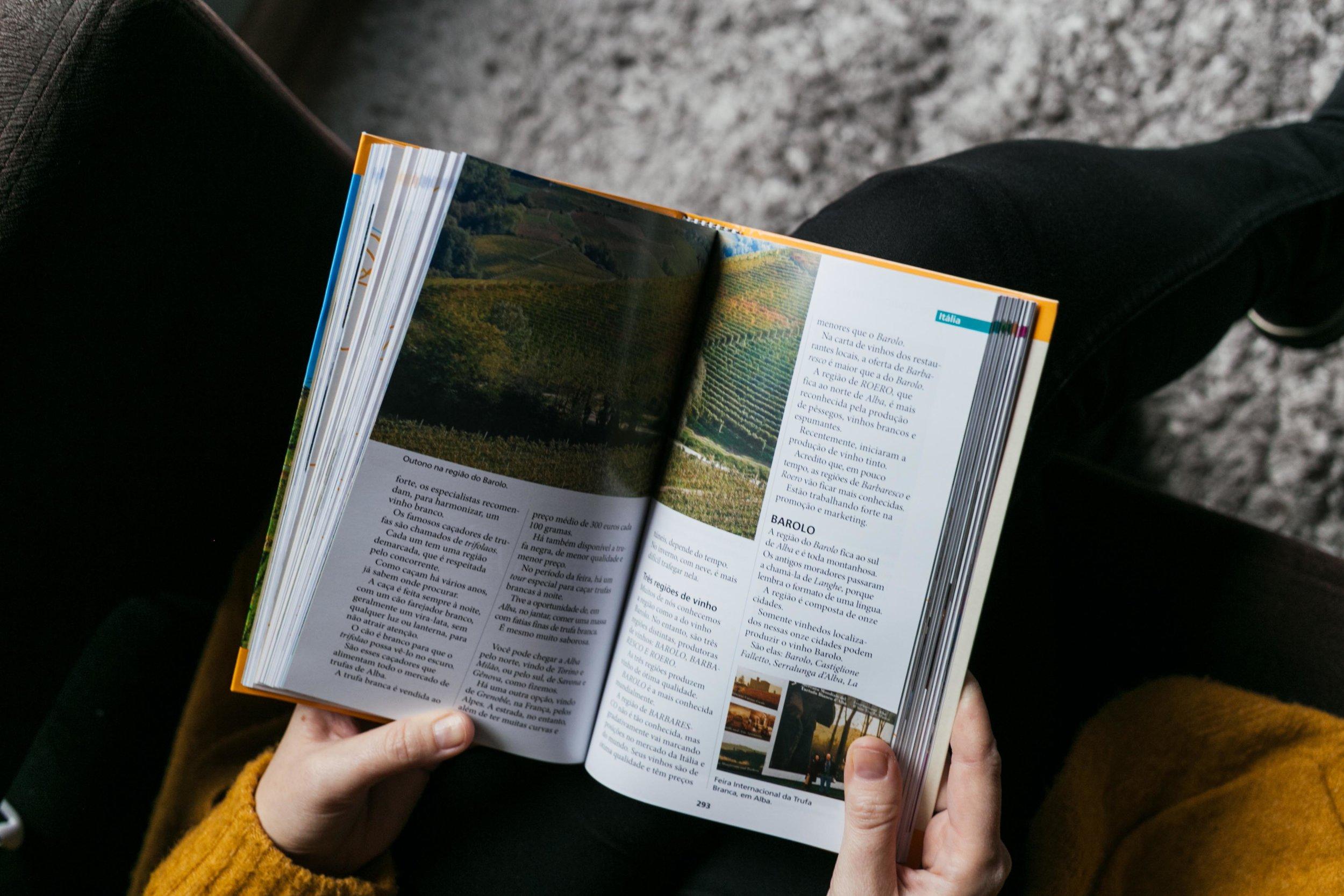 livro Viagens Vinhos História