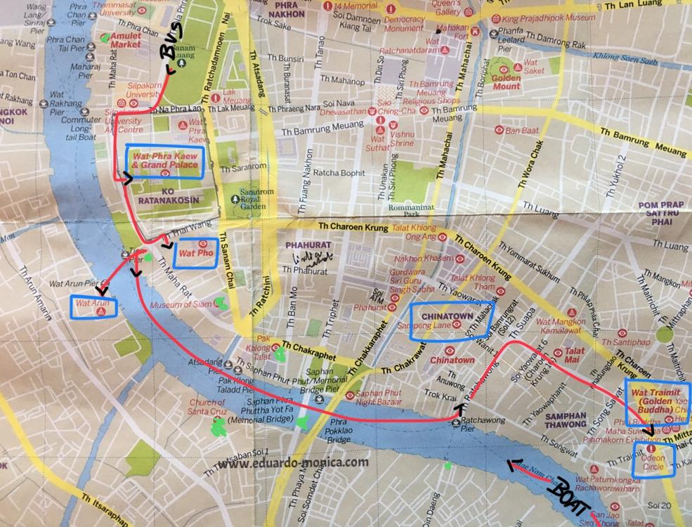 Esse mapa eu fiz para o The Yard Hostel Bangkok. Leia o post no  blog do The Yard .