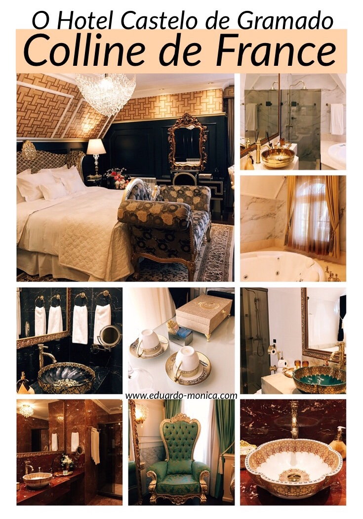 Colline de France: Um Hotel Castelo em Gramado