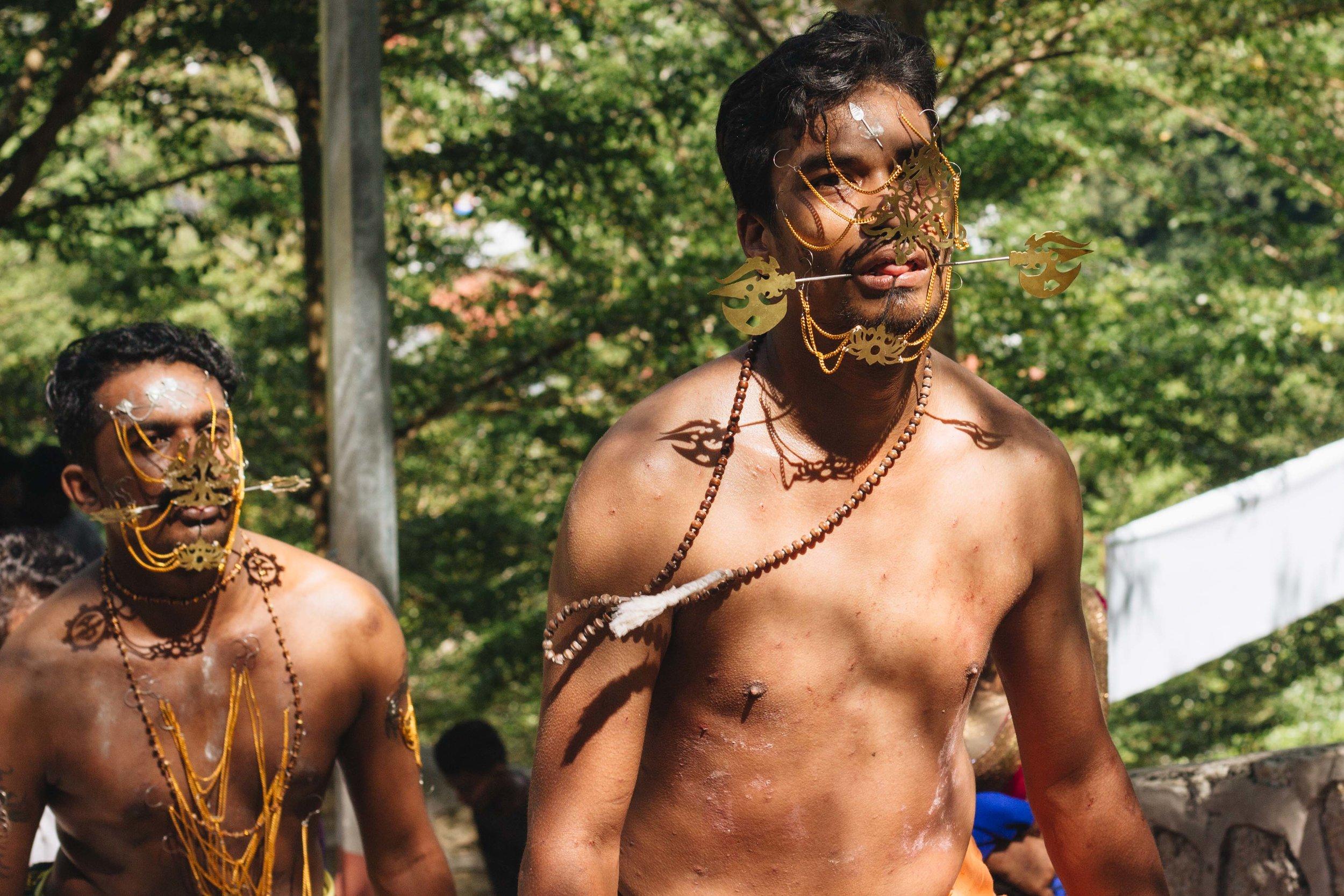 thaipusam festival hindu penang malasia