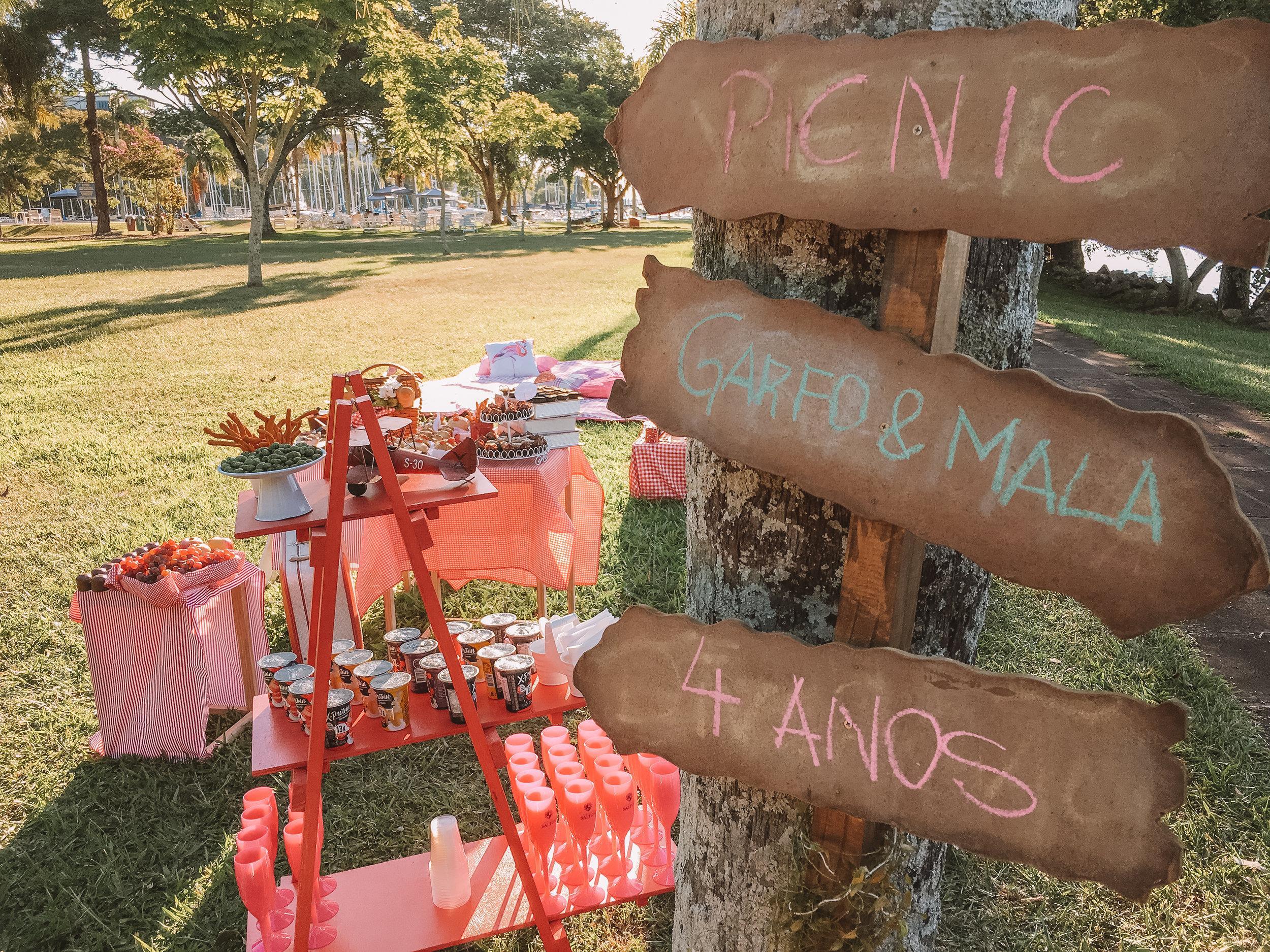 picnic porto alegre garfo & Mala