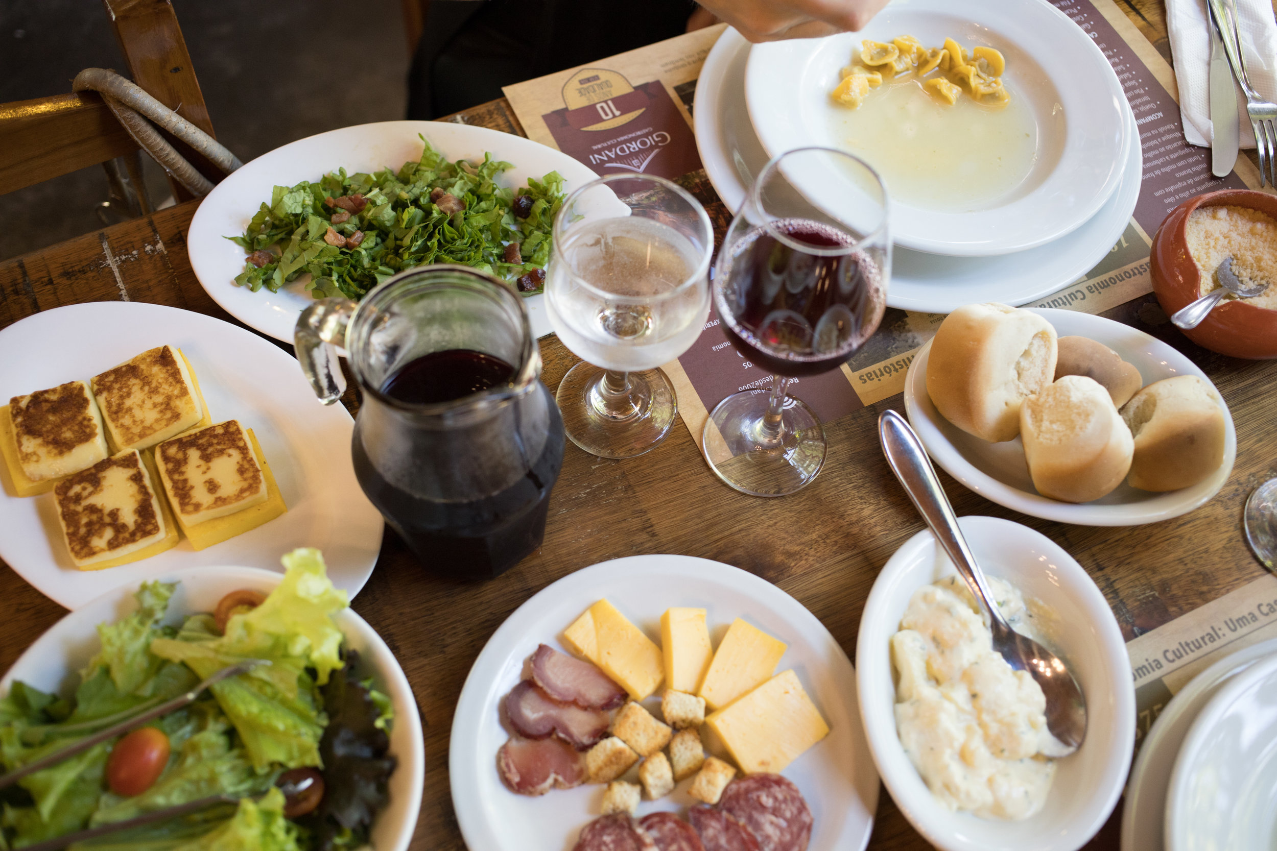 Giordani Gastronomia: Receptivo Giordani Turismo no Vale dos Vinhedos