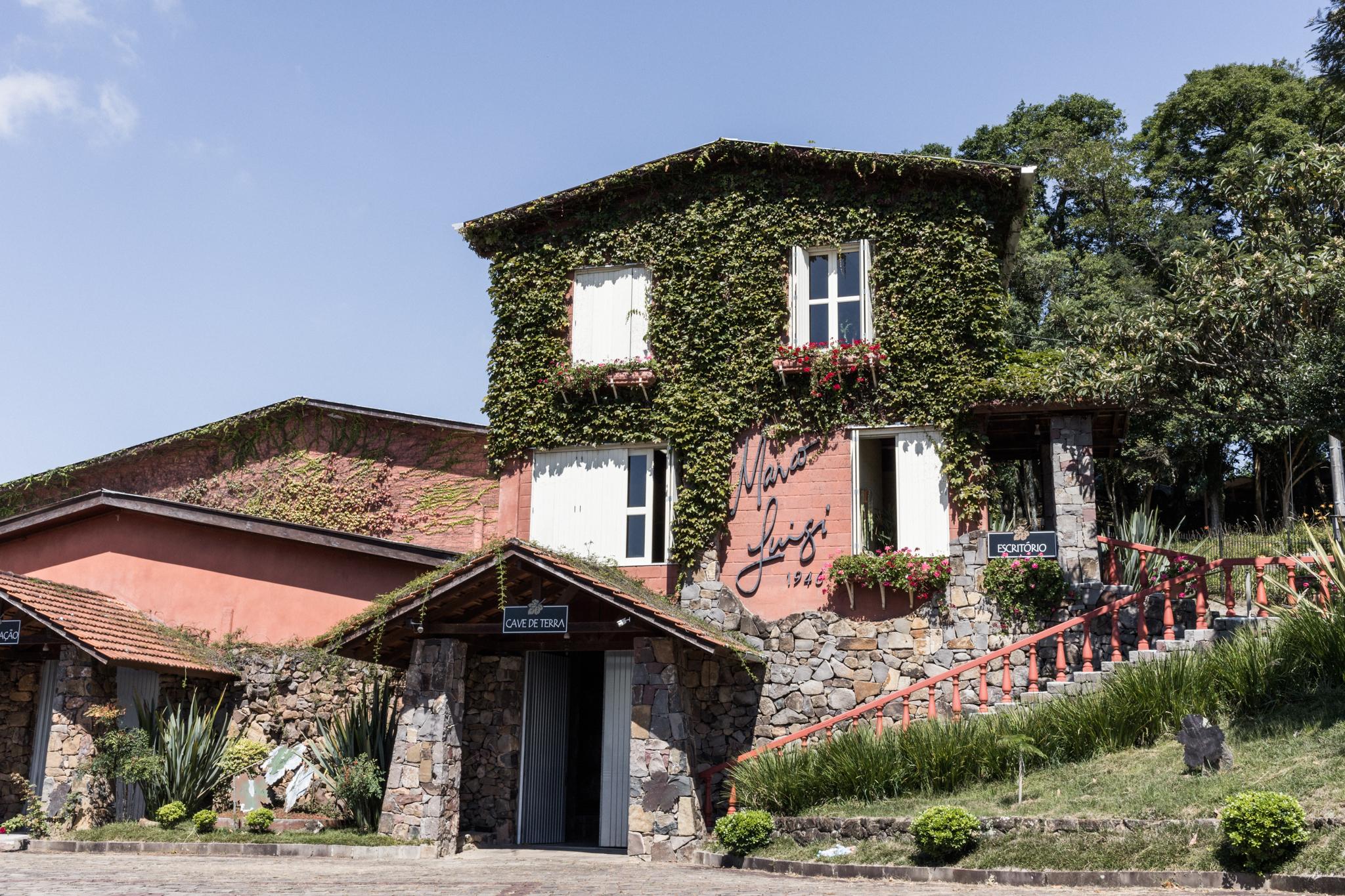Vinícola Marco Luigi: Receptivo Giordani Turismo no Vale dos Vinhedos