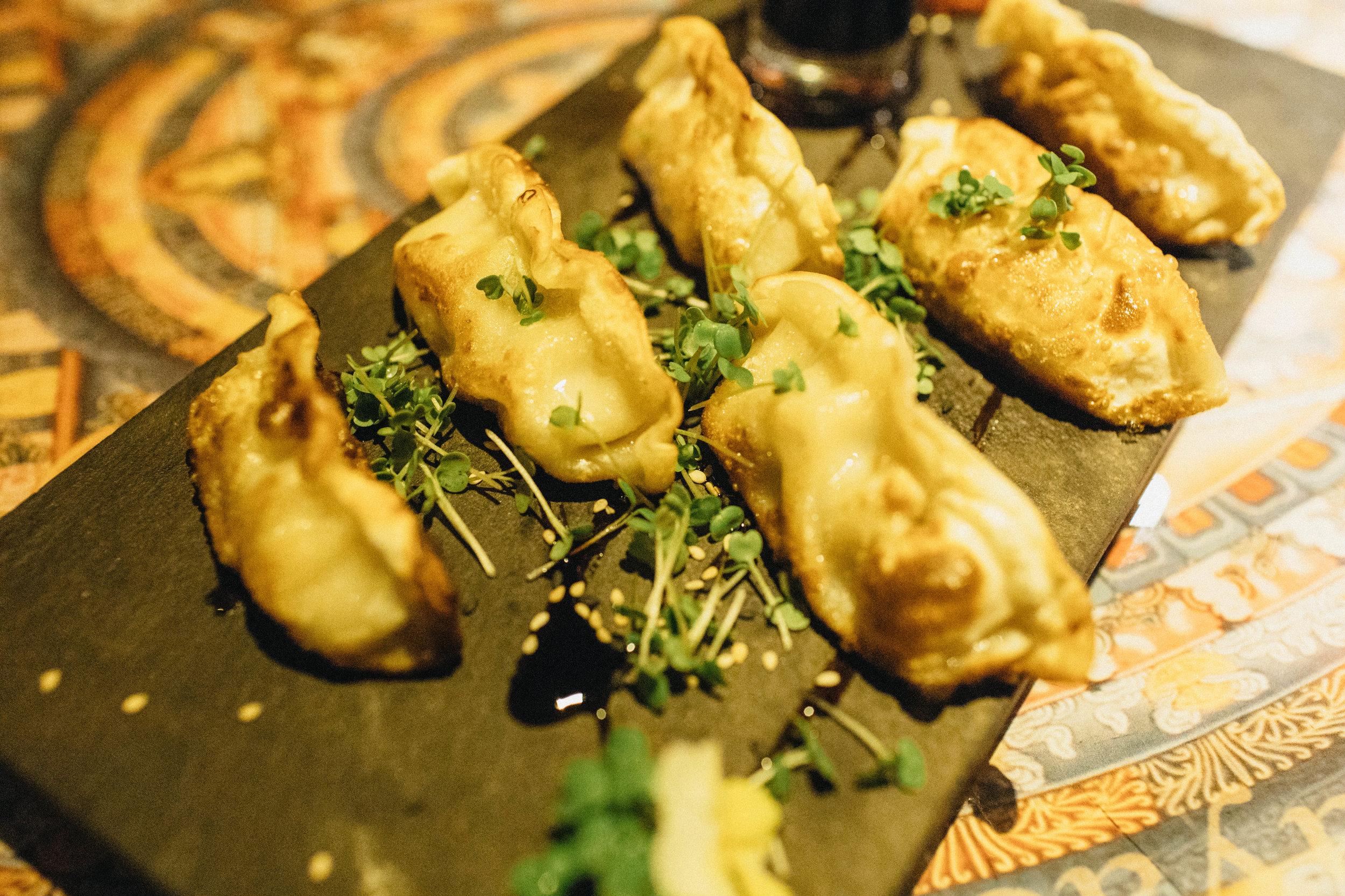 Guioza do Restaurante Galangal