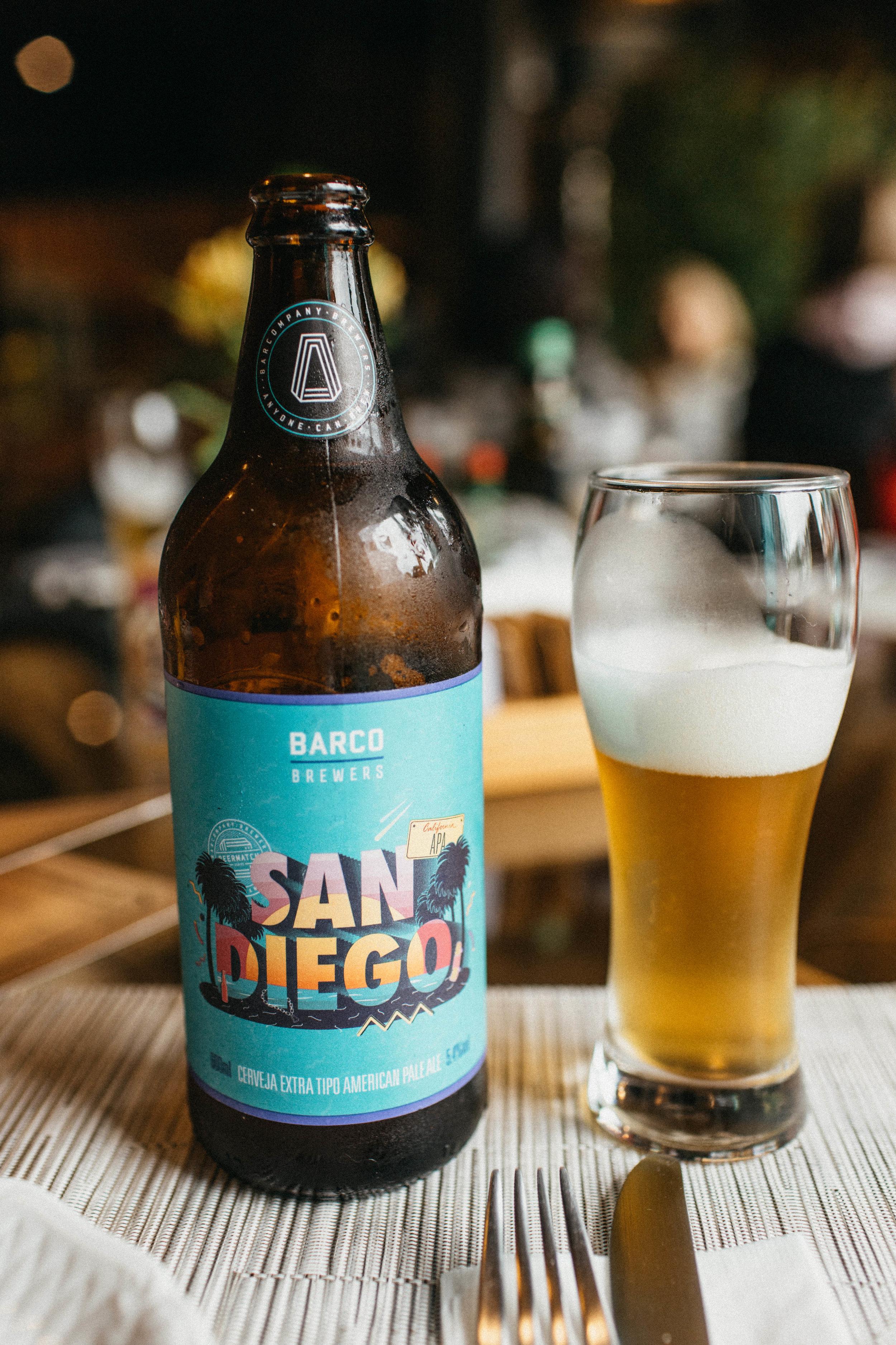 Cerveja pra acompanhar