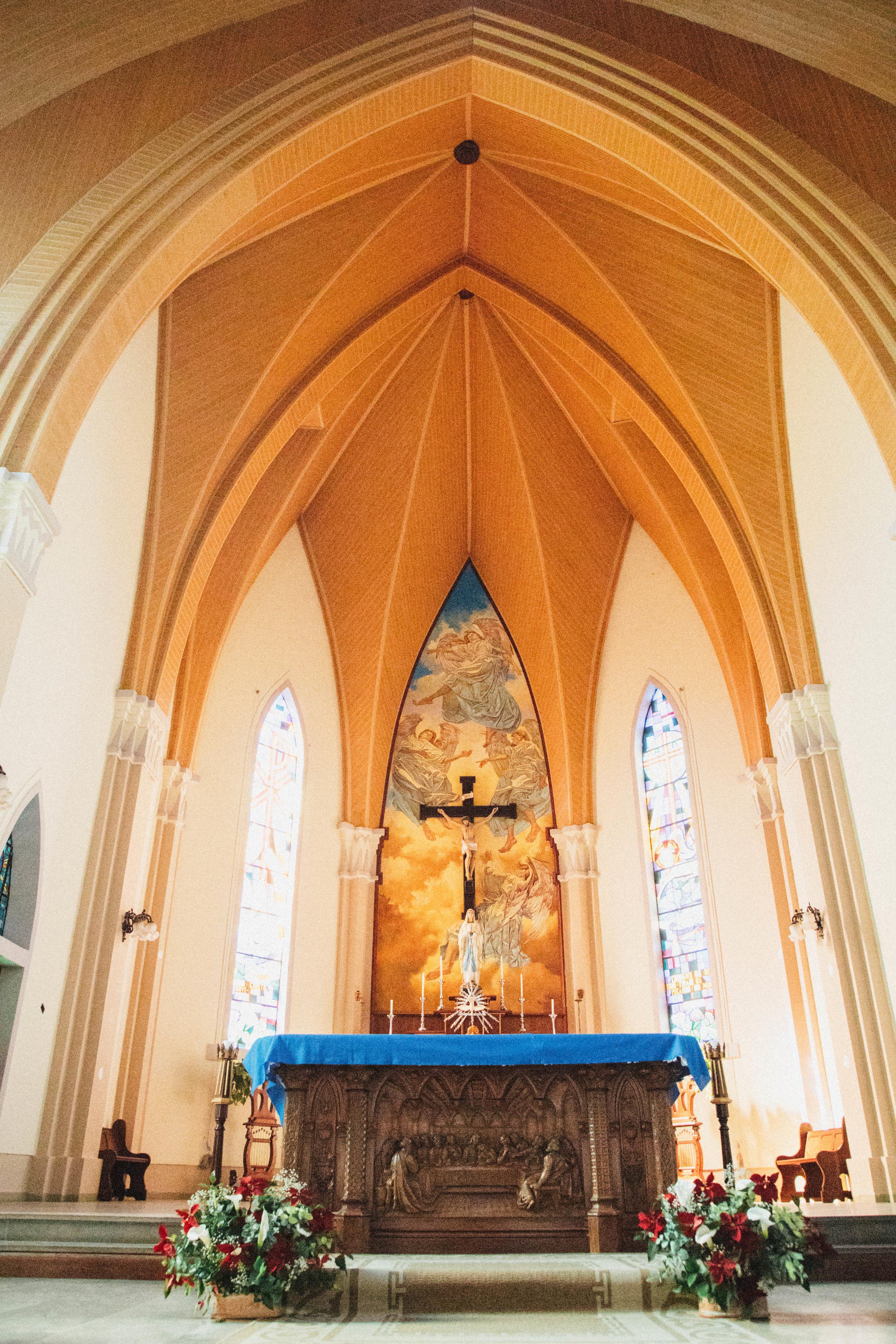 catedral de pedra canela show luzes