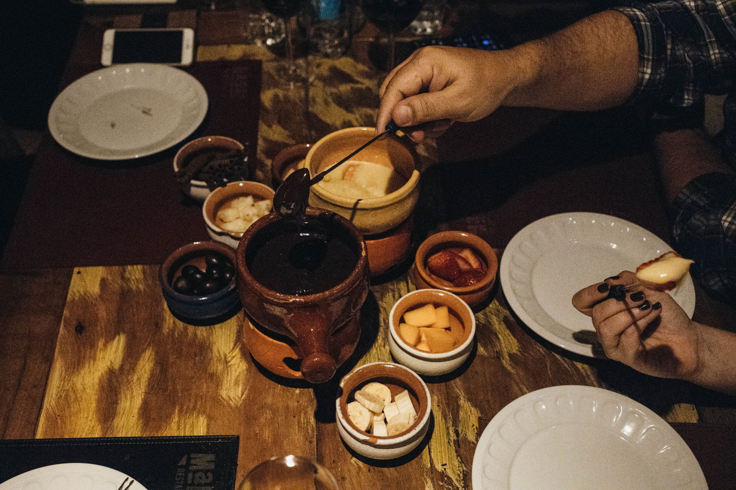 fondue gramado restaurante malbec jantar