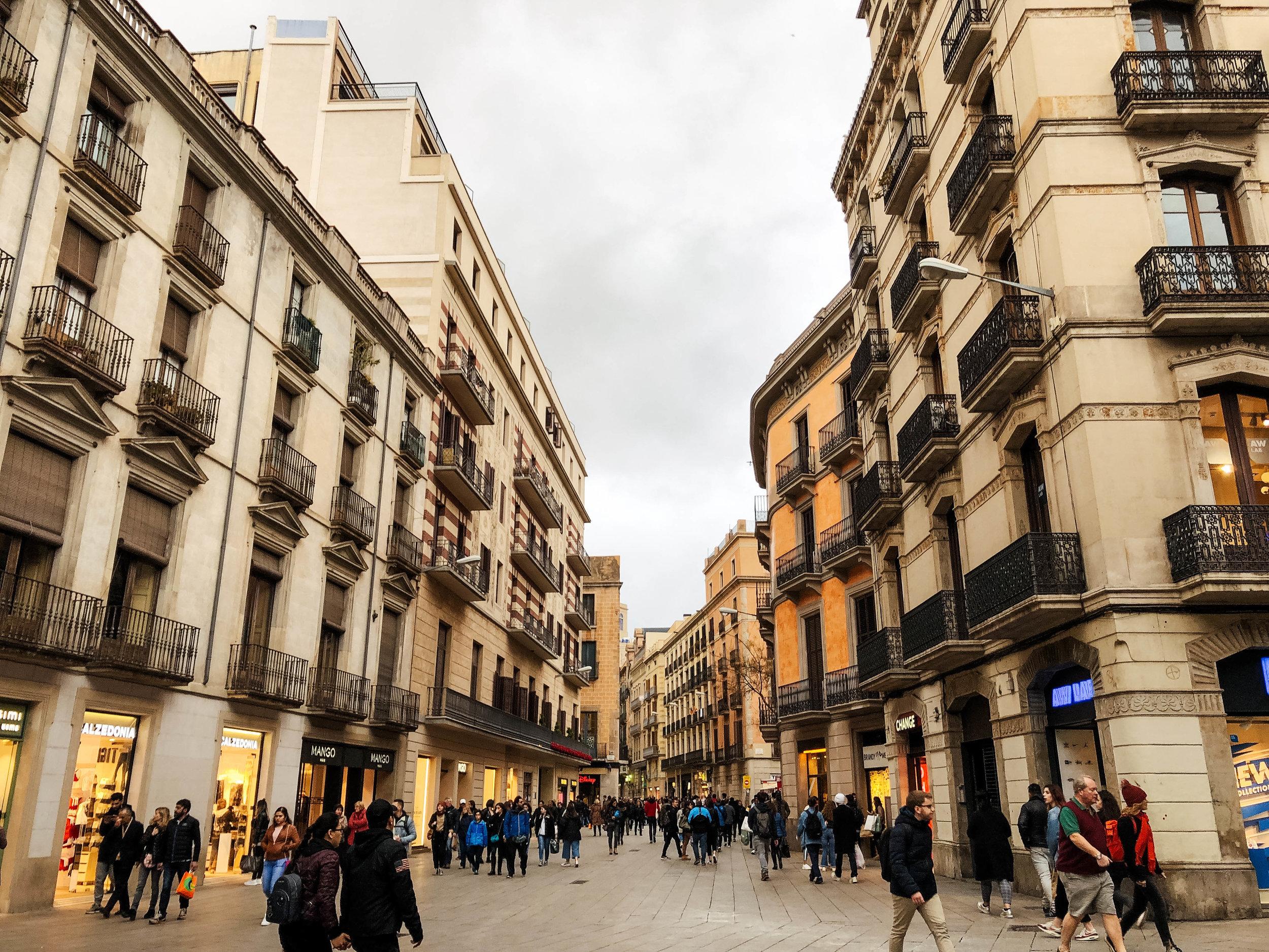 Ruas de Barcelona