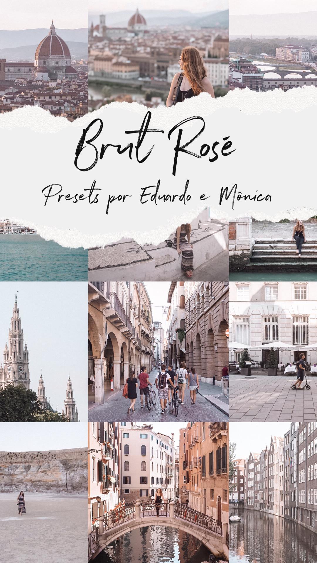 Preset Brut Rosé por Eduardo e Mônica