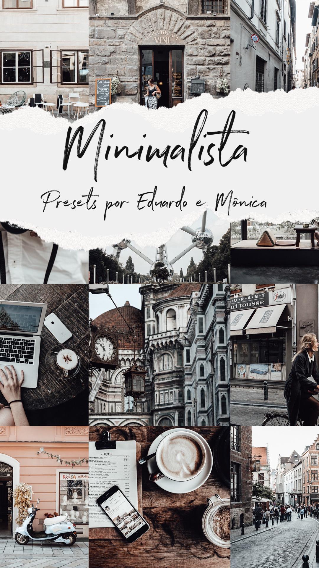 Preset Minimalista por Eduardo e Mônica
