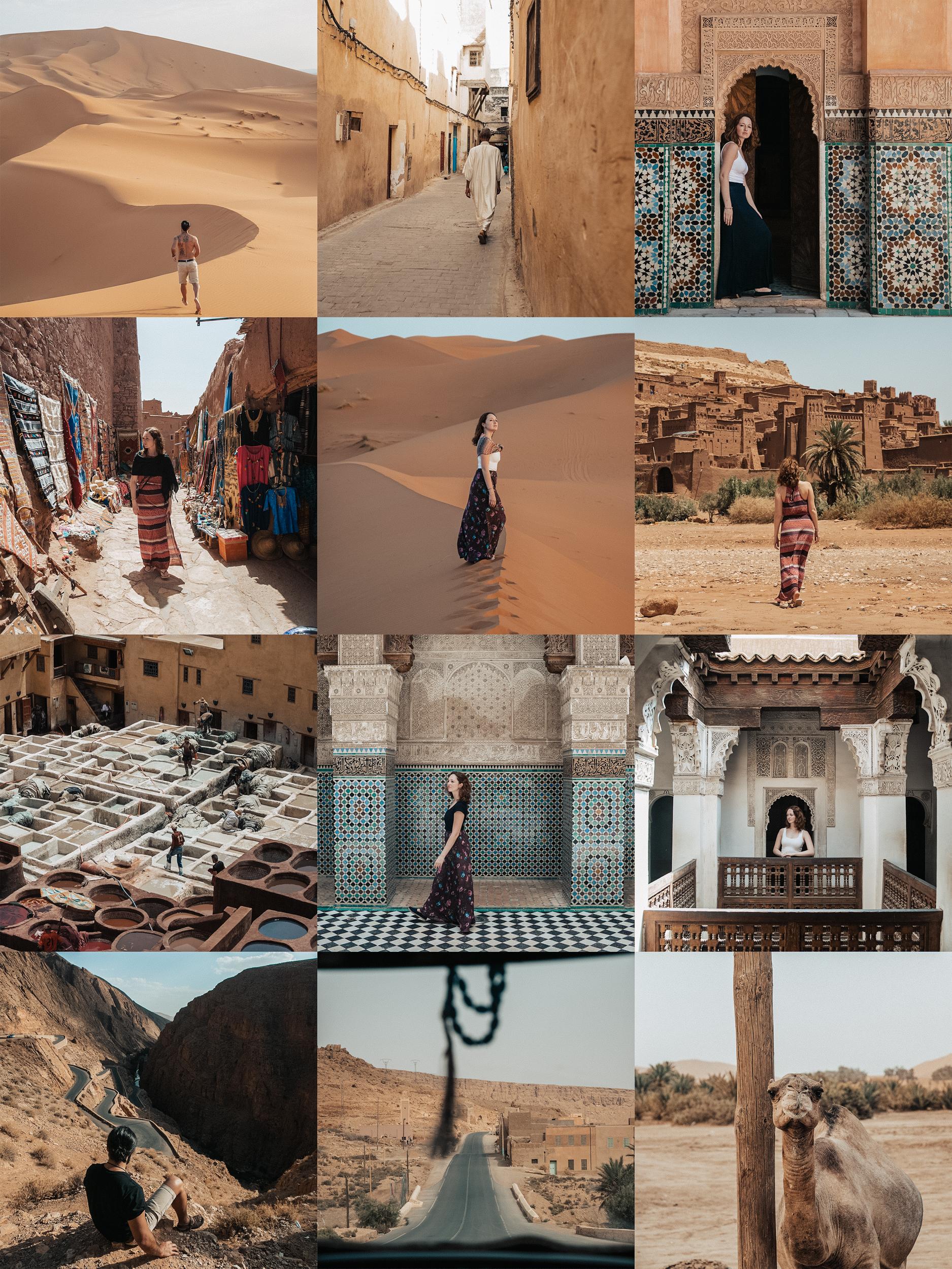 Presets Lightroom desktop Marrocos