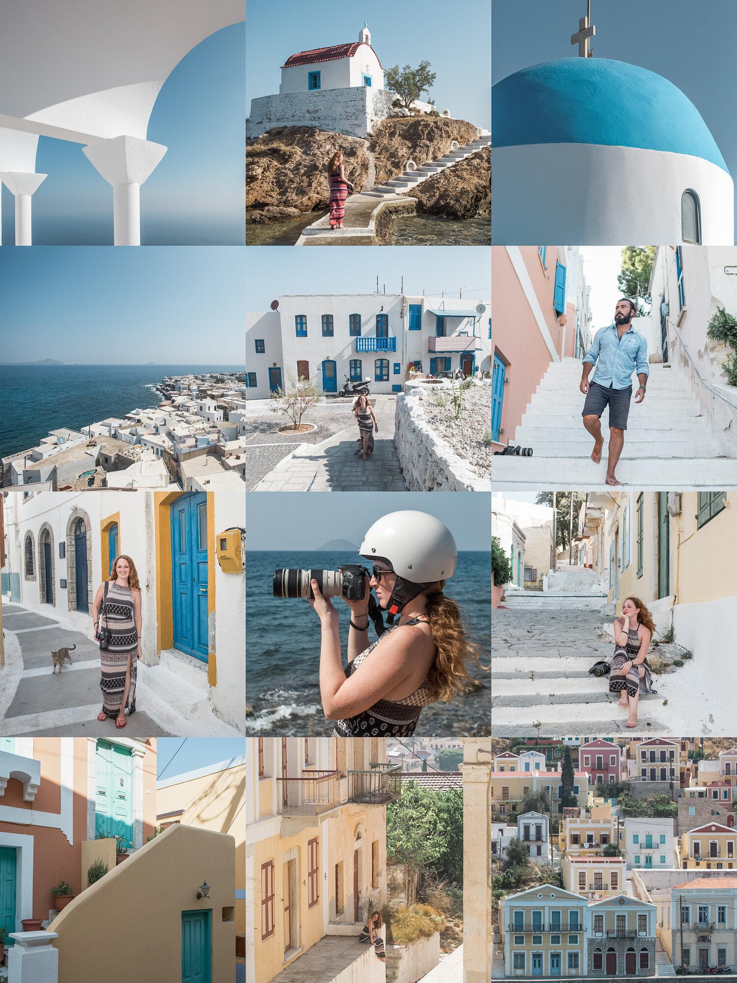 Presets Grécia