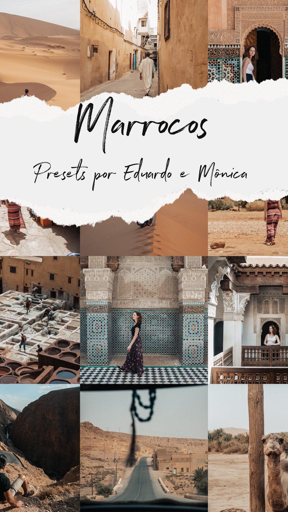 Presets Marrocos Mobile