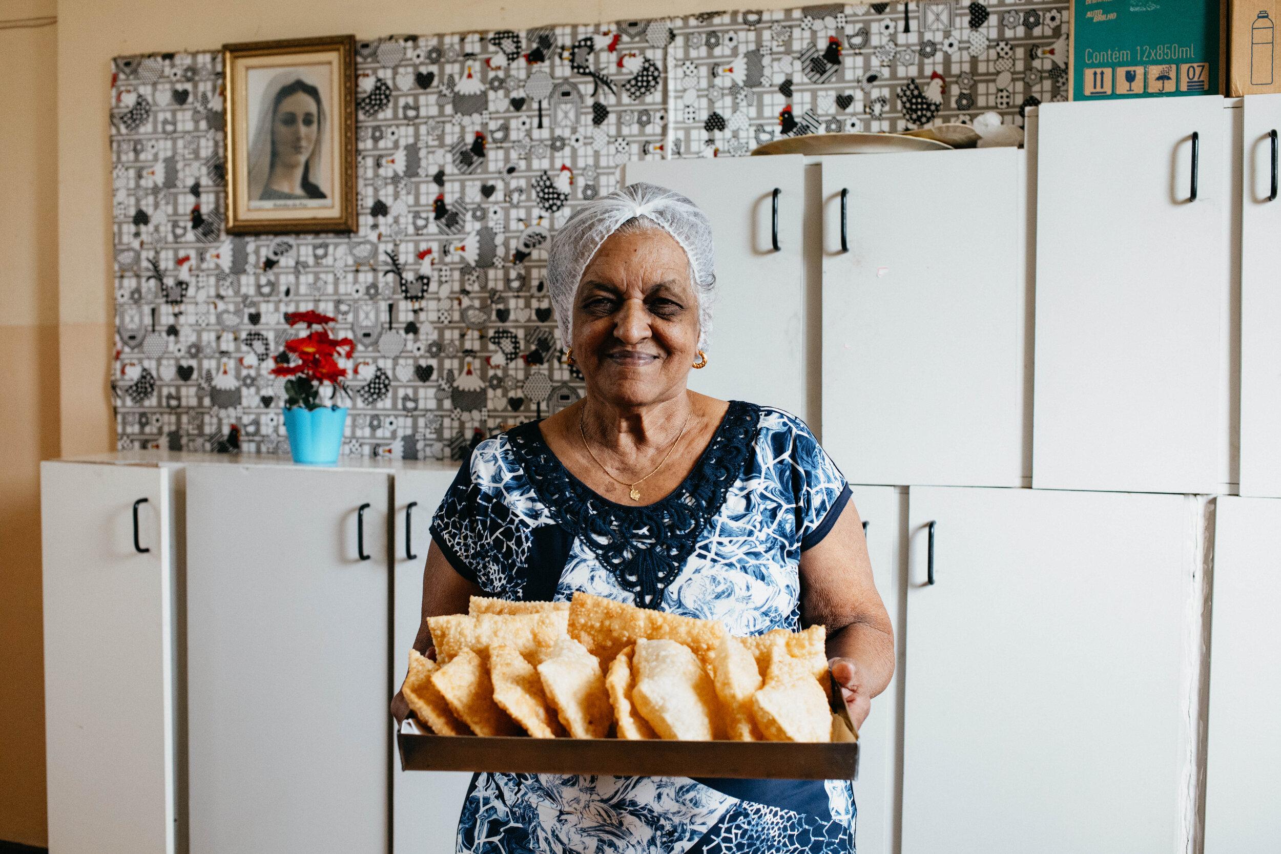 Dona Teresinha e o Pastel de São José