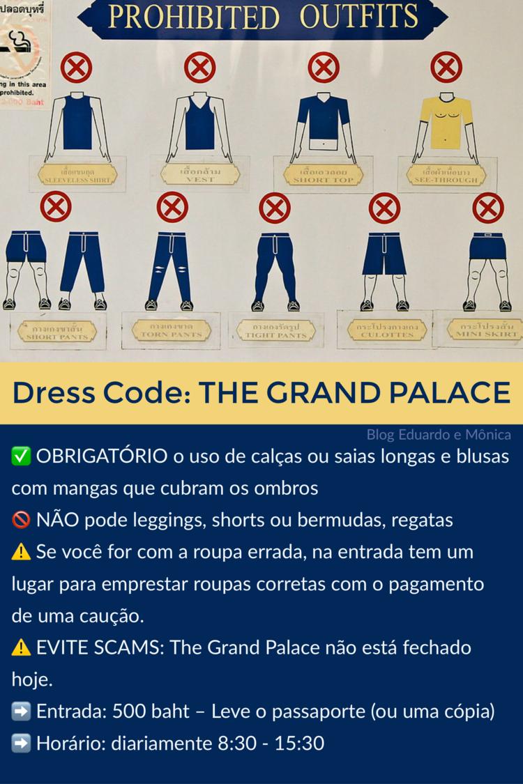 vestir templo grand palace tailandia